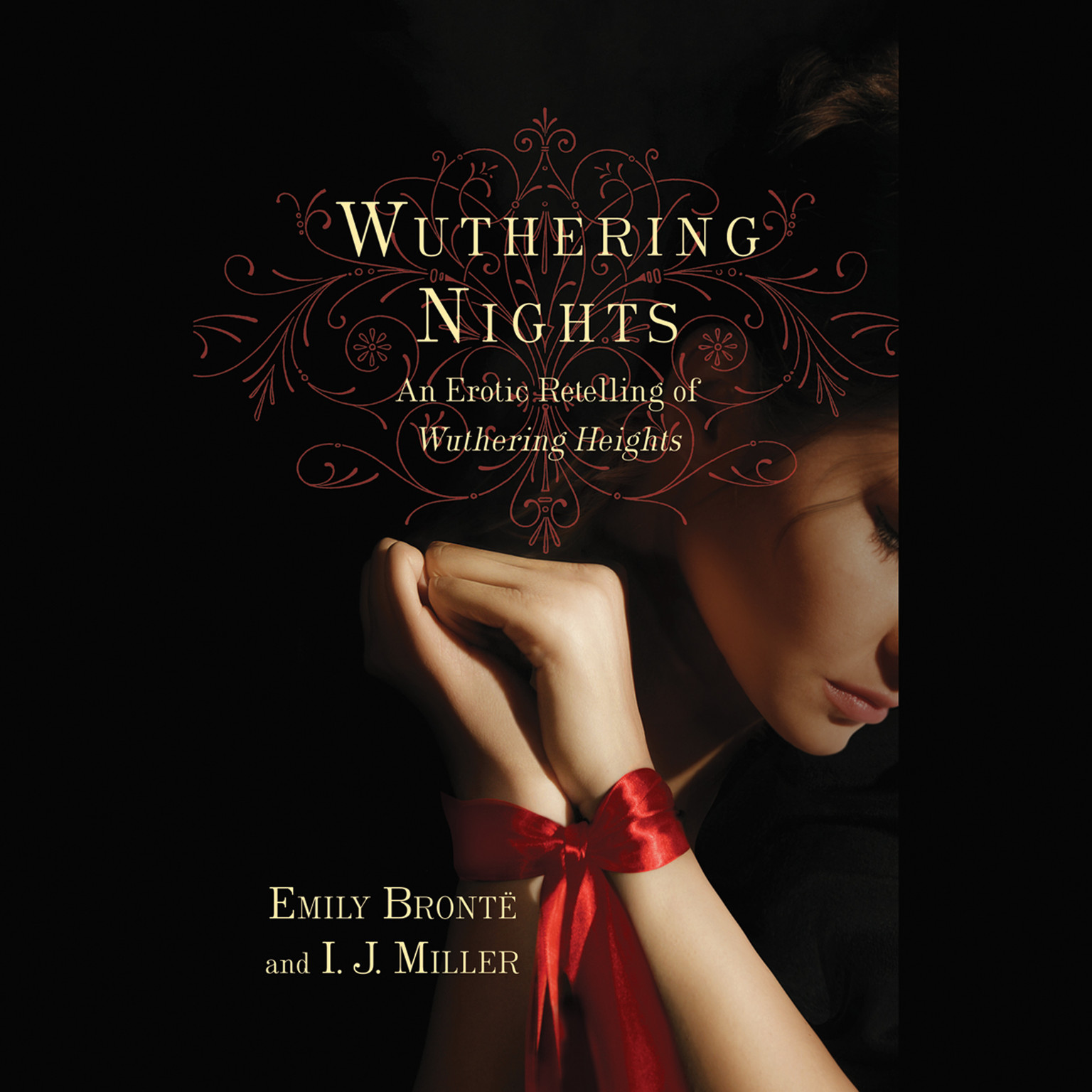 Printable Wuthering Nights: An Erotic Retelling of Wuthering Heights  Audiobook Cover Art
