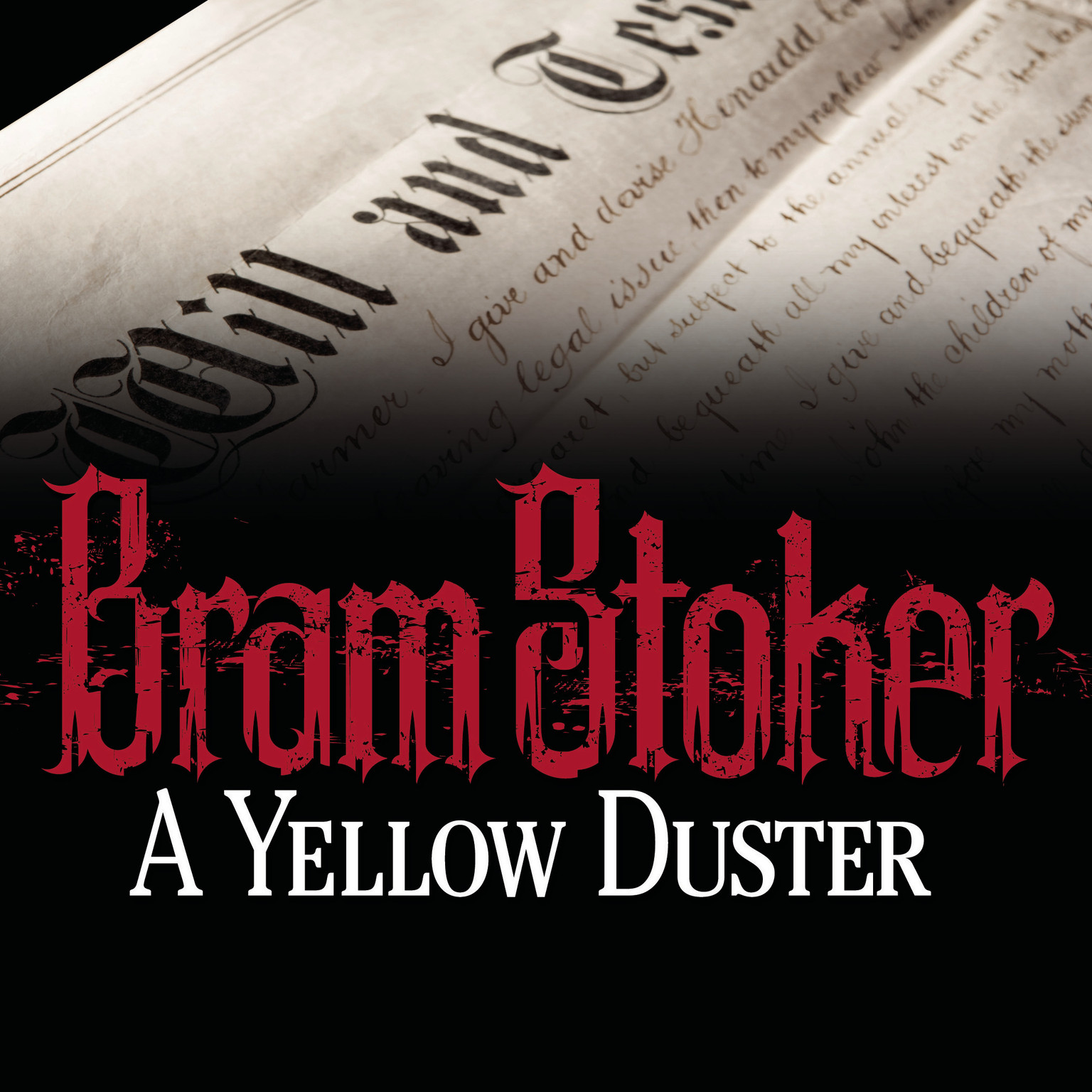 Printable A Yellow Duster Audiobook Cover Art