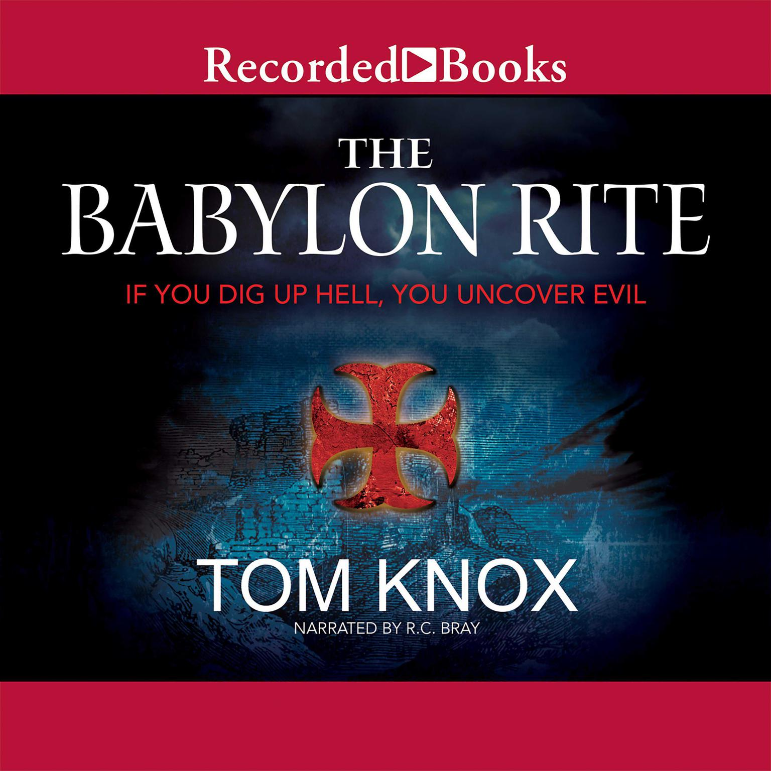 Printable The Babylon Rite Audiobook Cover Art