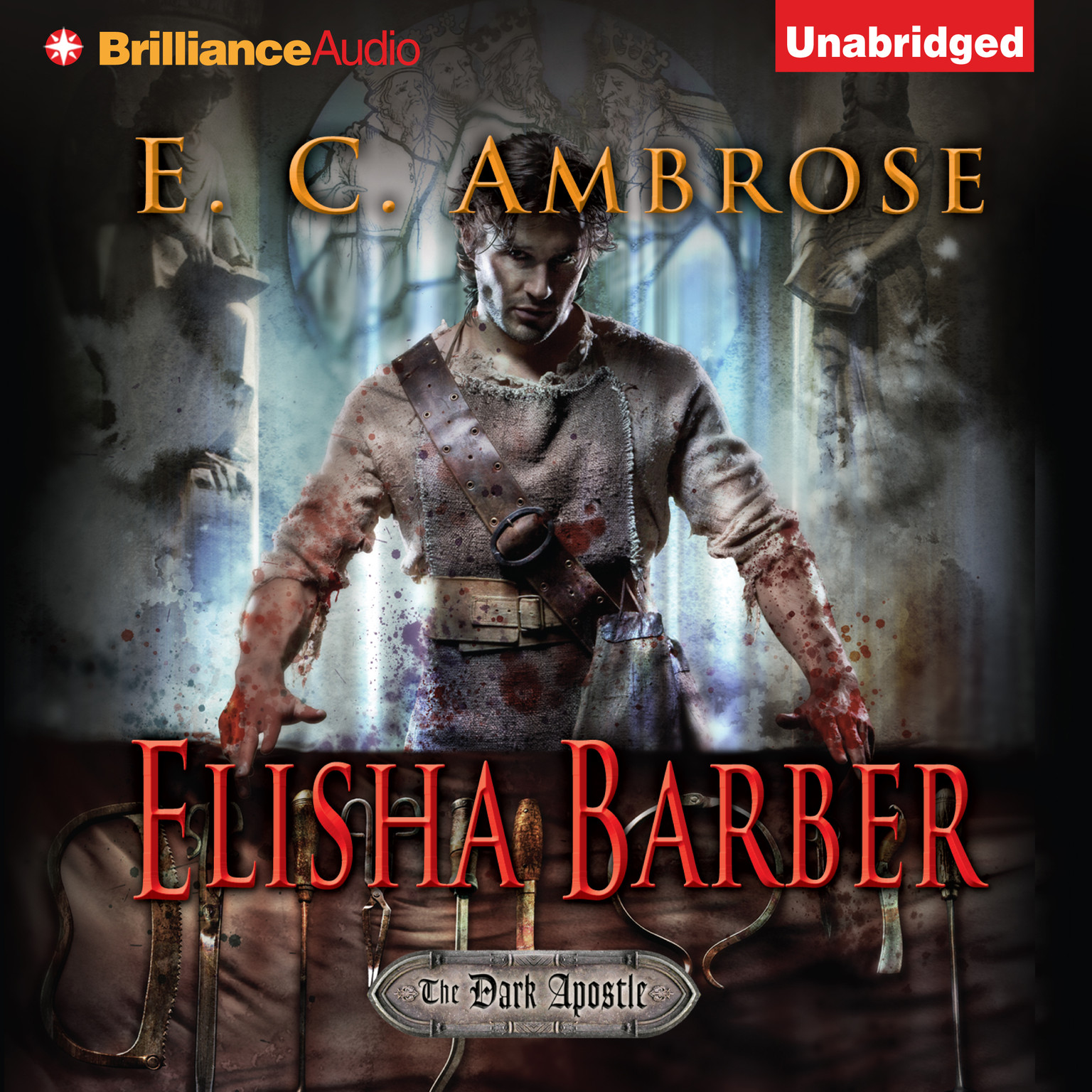Printable Elisha Barber Audiobook Cover Art