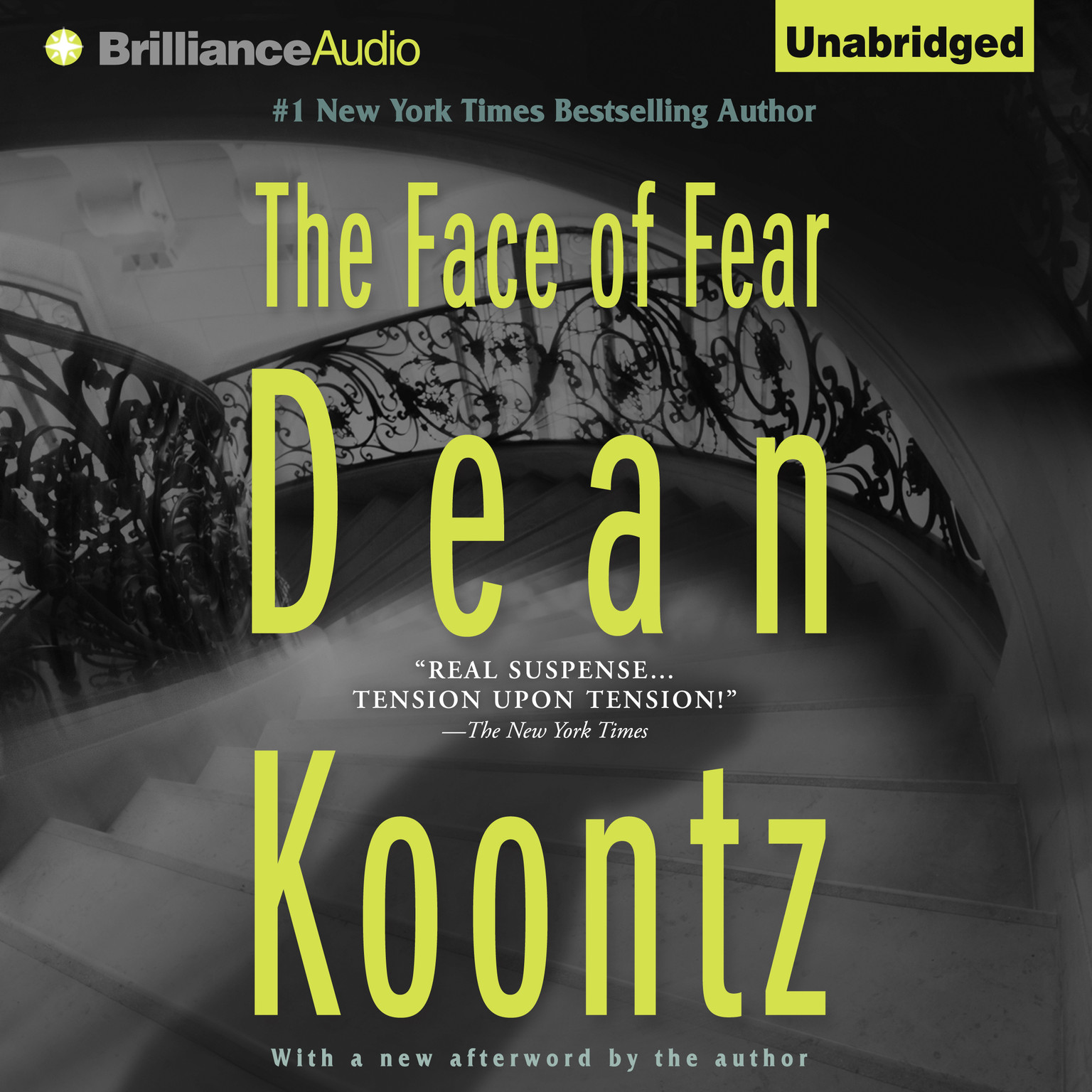Printable The Face of Fear Audiobook Cover Art