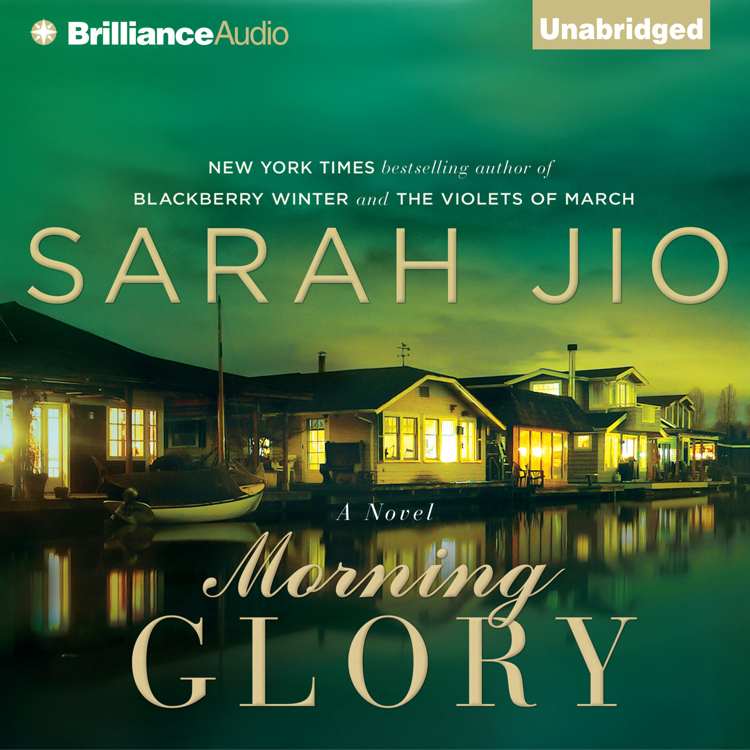 Printable Morning Glory Audiobook Cover Art