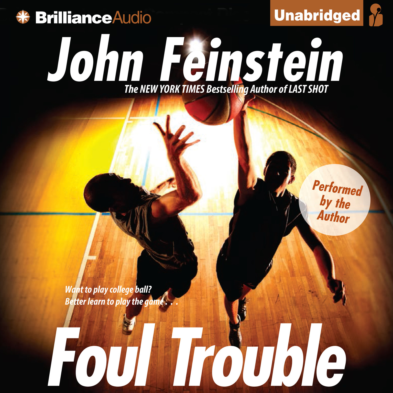 Printable Foul Trouble Audiobook Cover Art