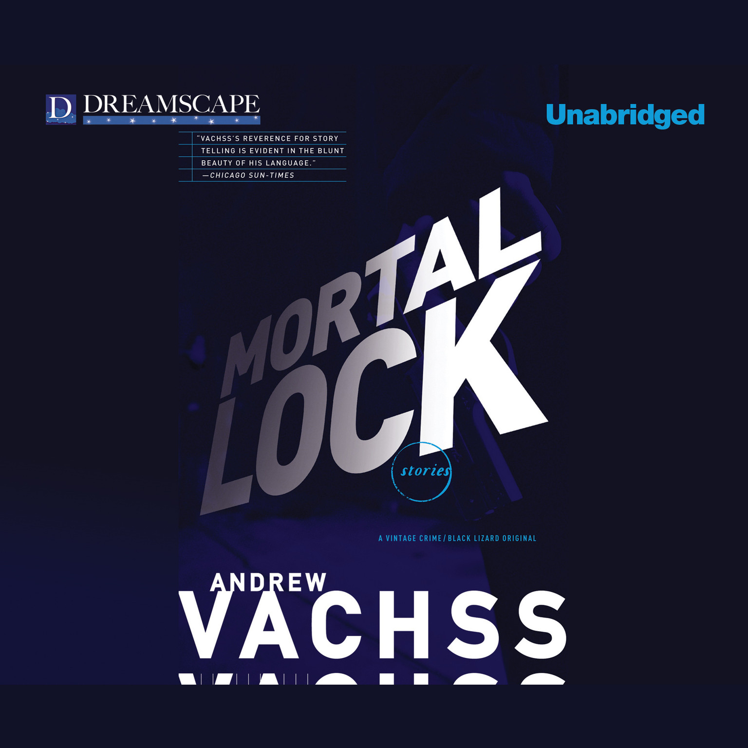Printable Mortal Lock Audiobook Cover Art