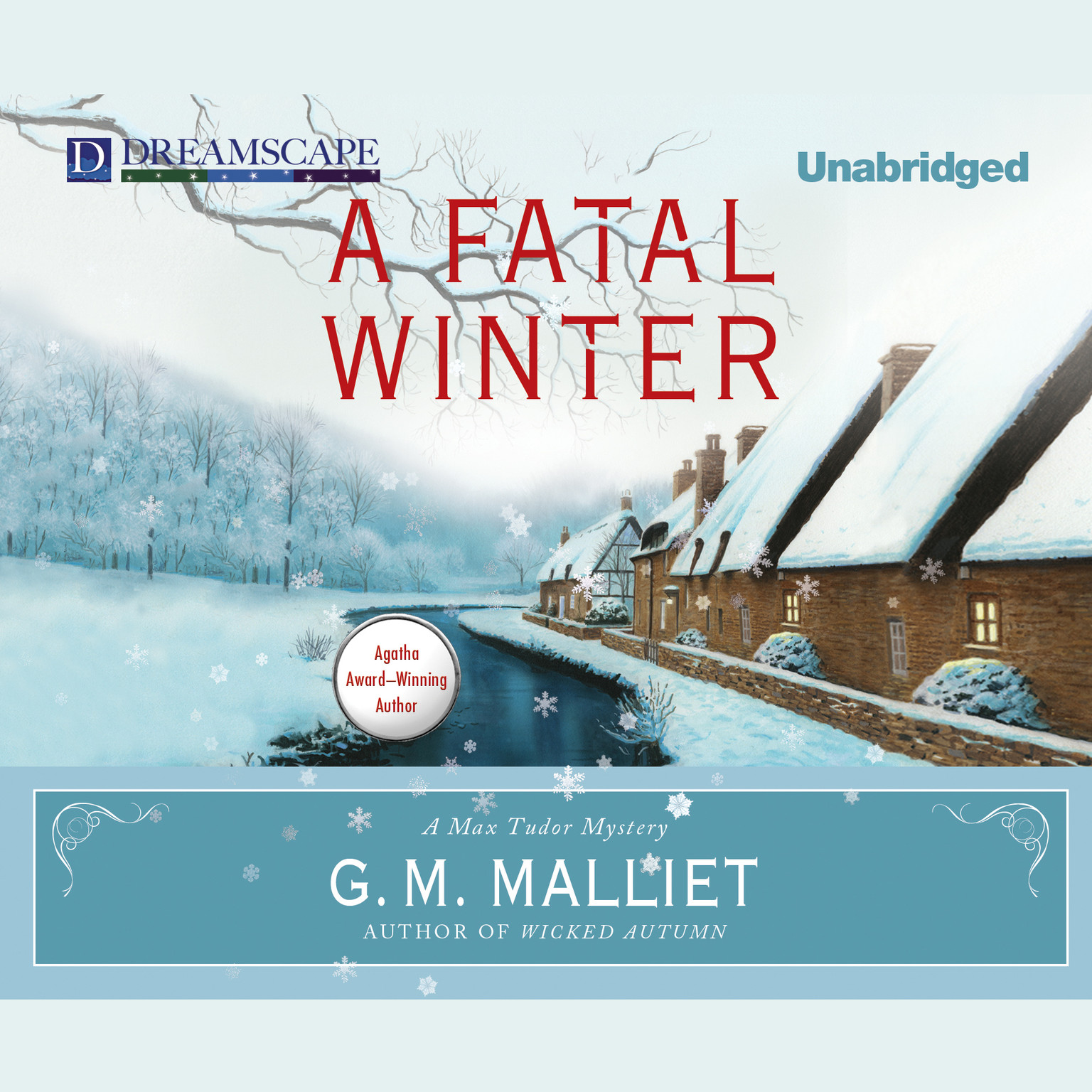 Printable A Fatal Winter Audiobook Cover Art