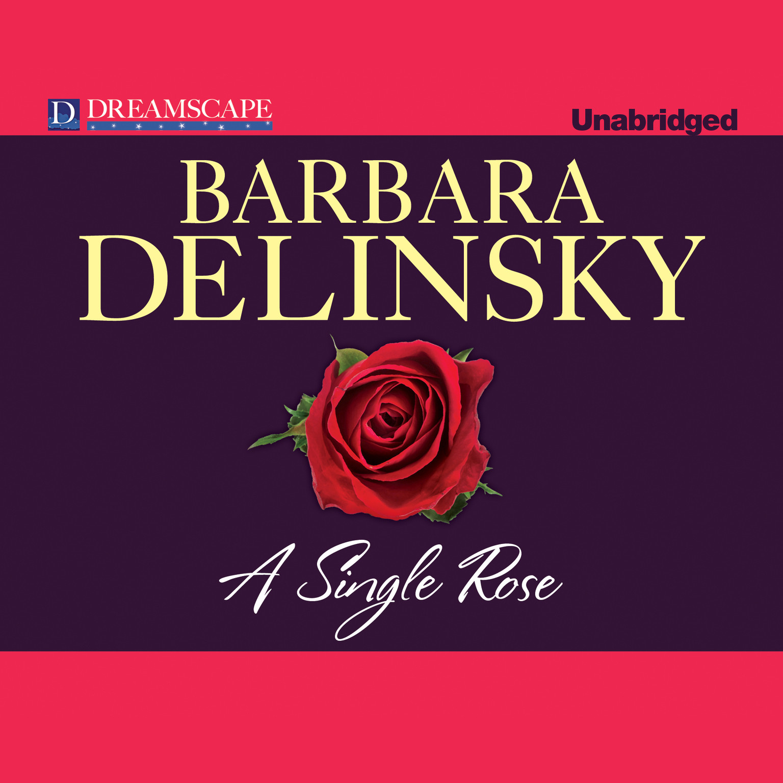 Printable A Single Rose Audiobook Cover Art