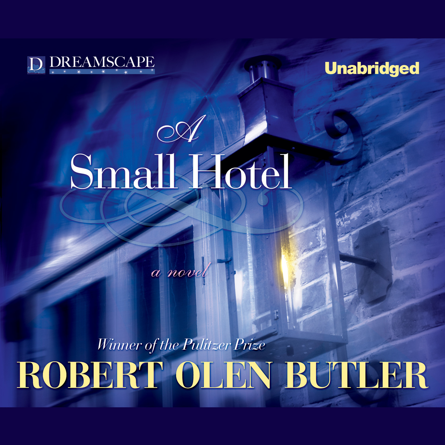 Printable A Small Hotel Audiobook Cover Art