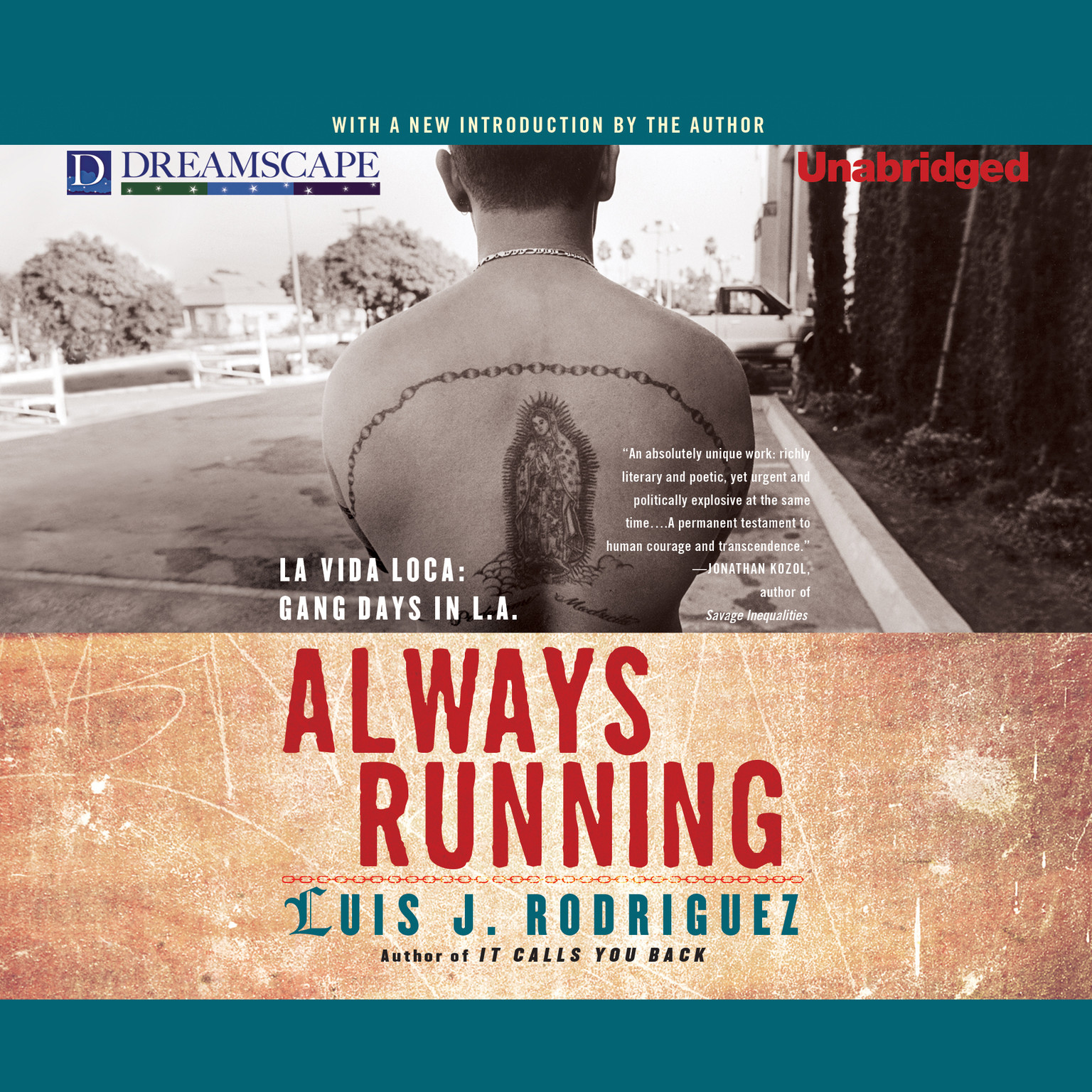 Printable Always Running: La Vida Loca: Gang Days in L.A. Audiobook Cover Art