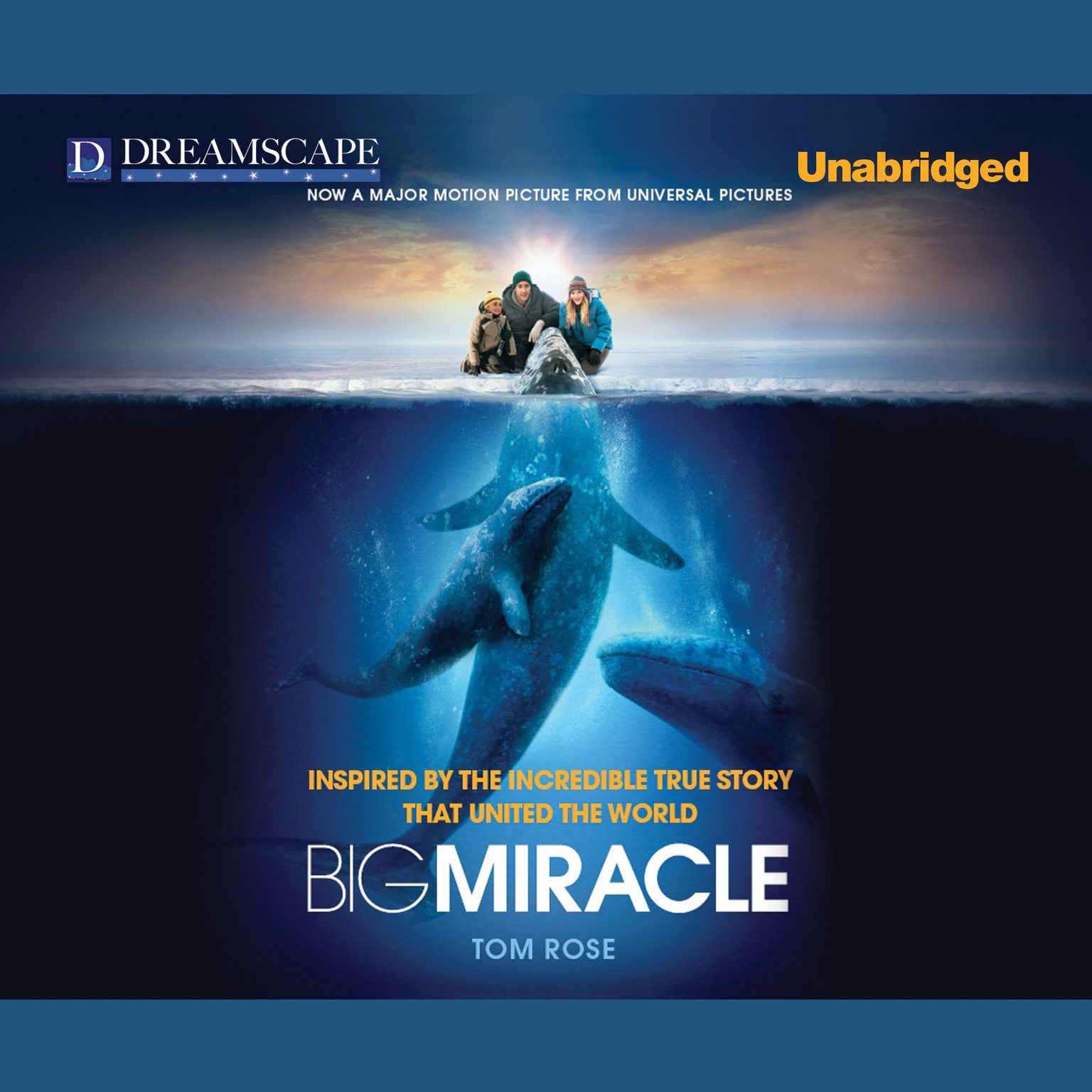 Printable Big Miracle Audiobook Cover Art