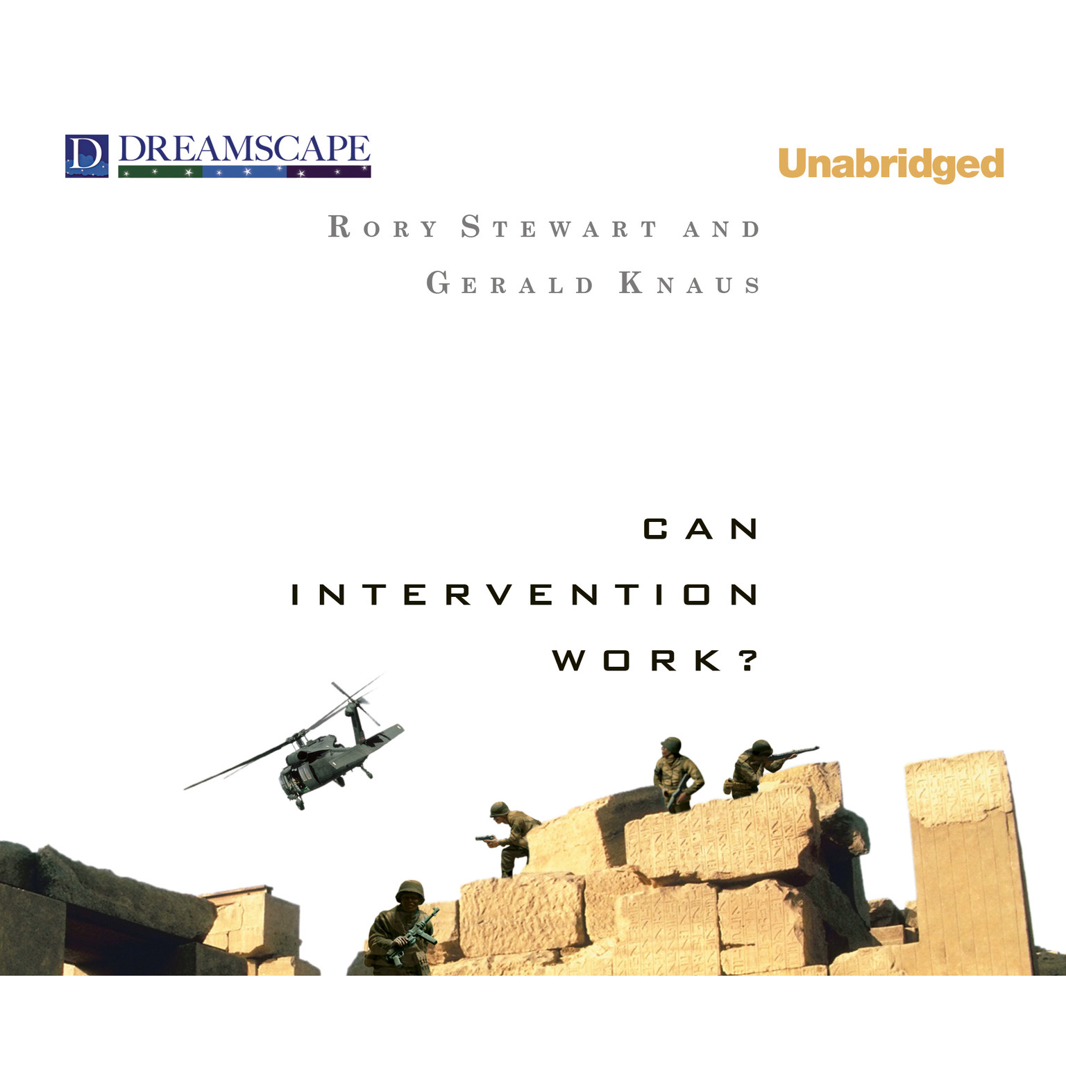 Printable Can Intervention Work? Audiobook Cover Art