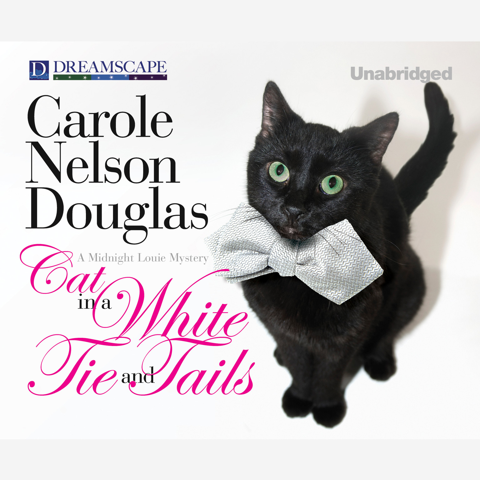 Printable Cat in a White Tie and Tails Audiobook Cover Art