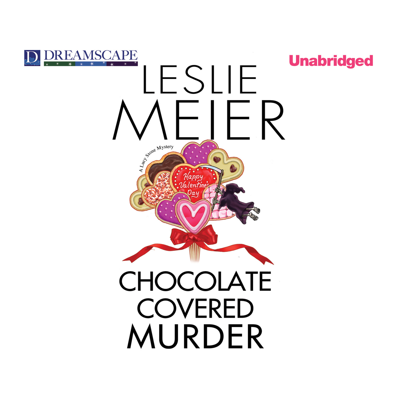 Printable Chocolate Covered Murder Audiobook Cover Art