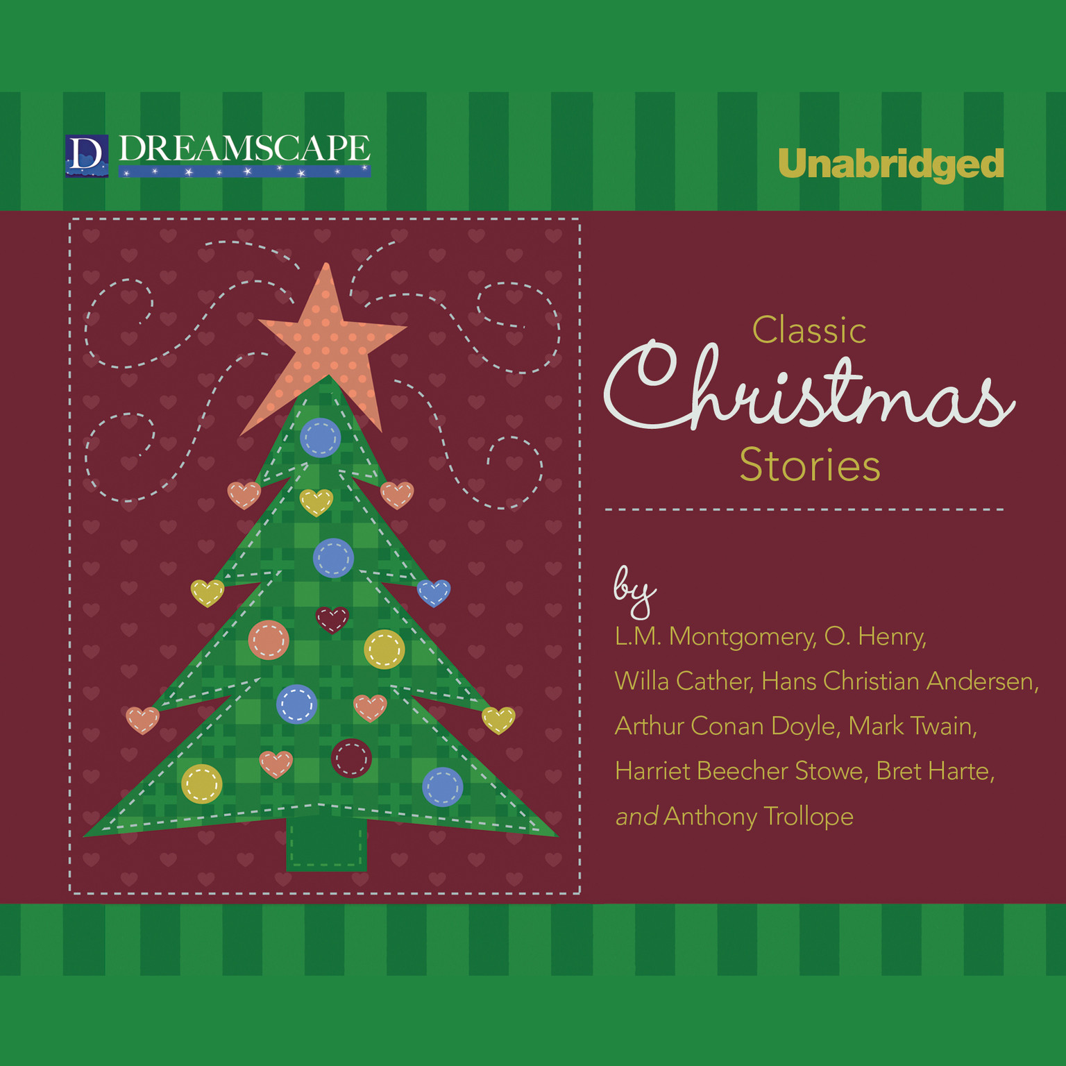 Printable Classic Christmas Stories: A Collection of Timeless Holiday Tales Audiobook Cover Art