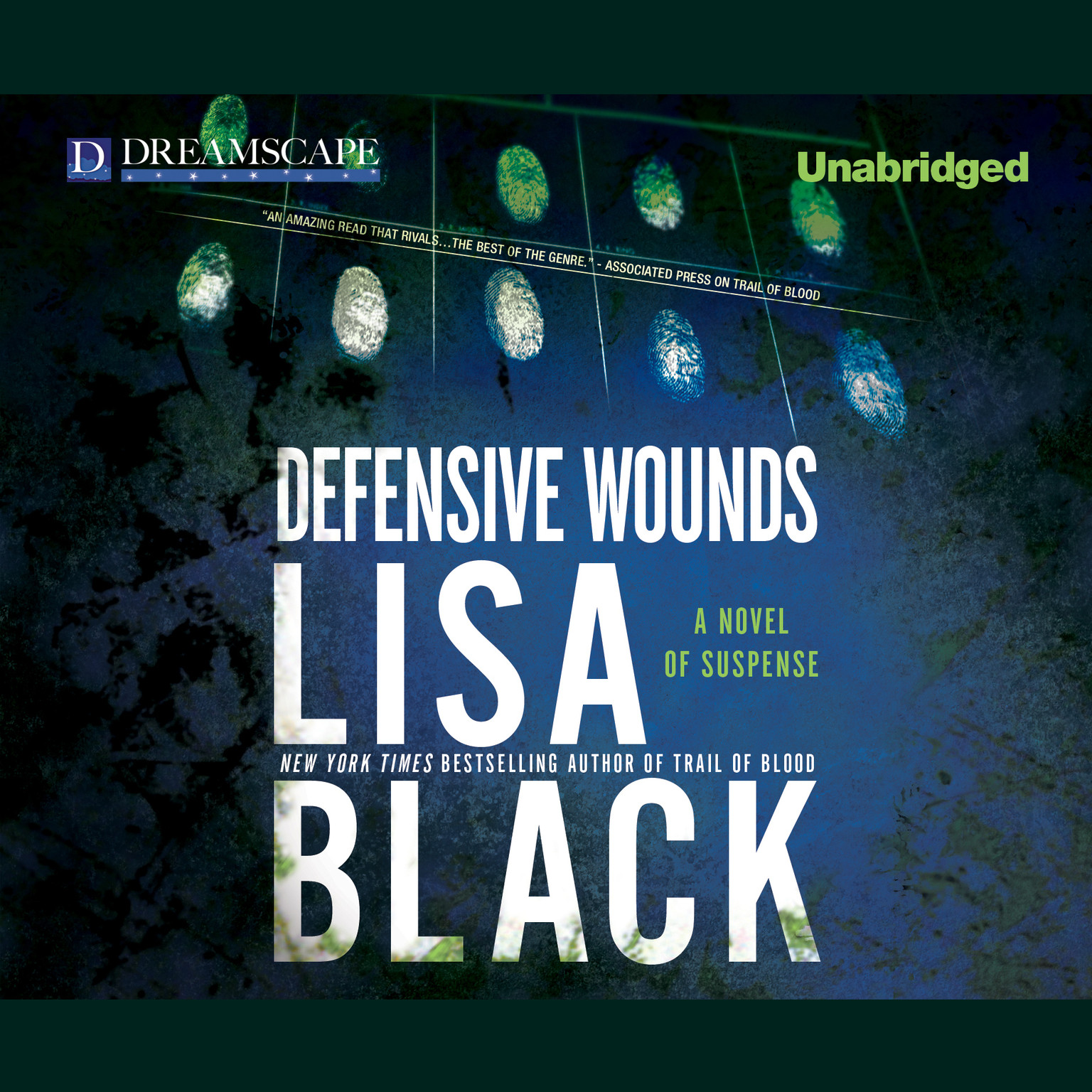 Printable Defensive Wounds Audiobook Cover Art