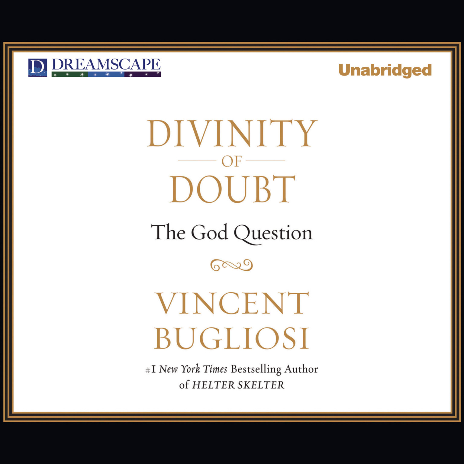 Printable Divinity of Doubt: The God Question Audiobook Cover Art