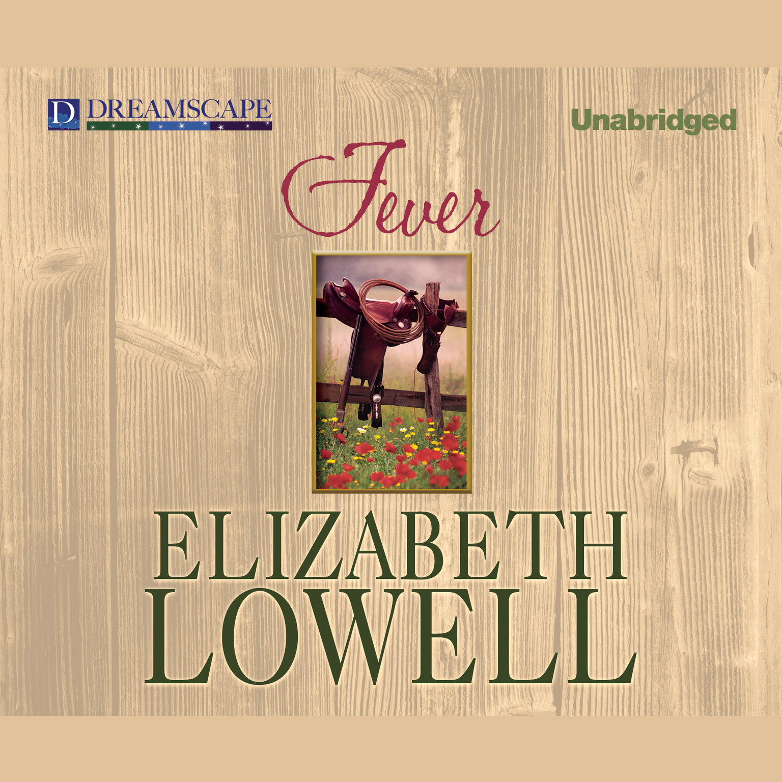 Printable Fever Audiobook Cover Art