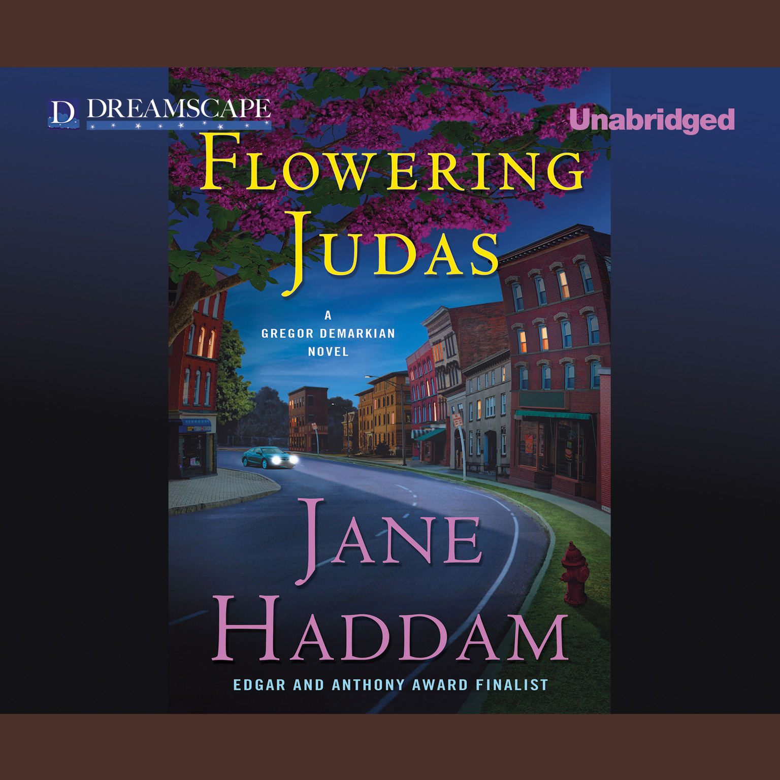 Printable Flowering Judas Audiobook Cover Art