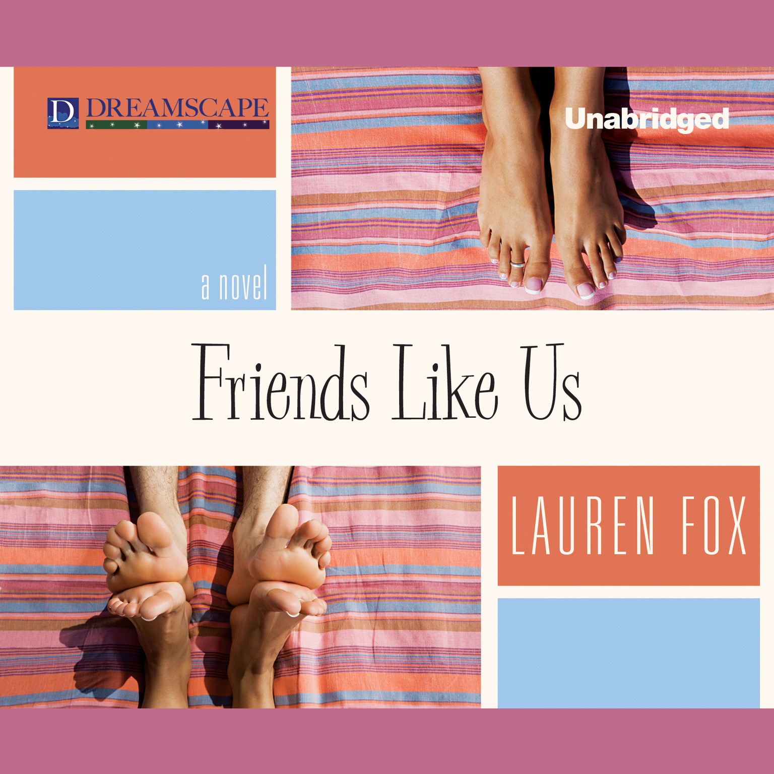 Printable Friends Like Us Audiobook Cover Art