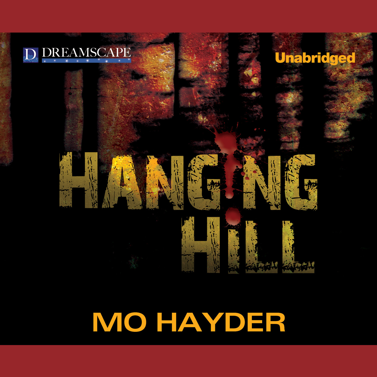 Printable Hanging Hill Audiobook Cover Art