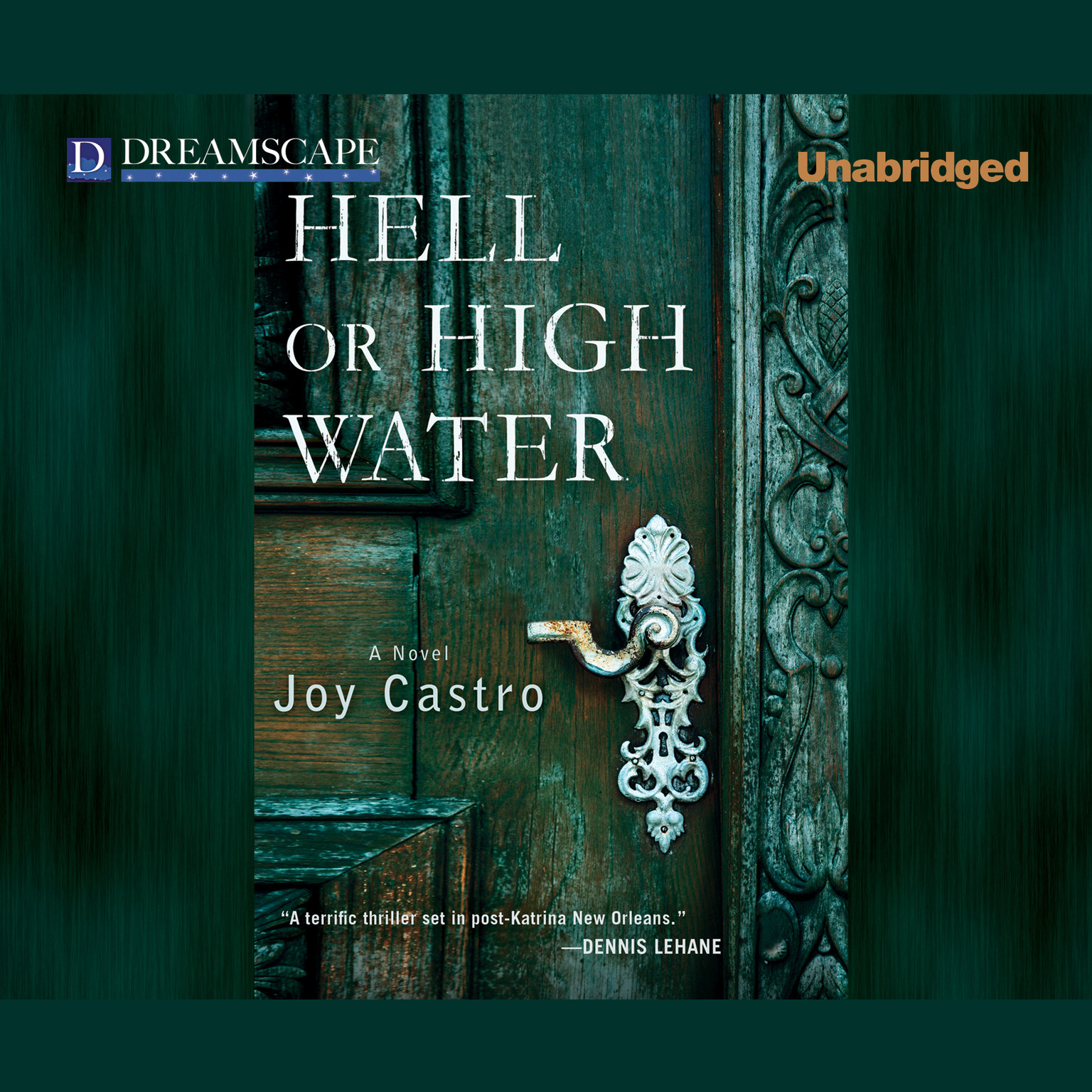 Printable Hell or High Water Audiobook Cover Art