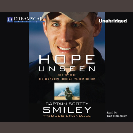 Printable Hope Unseen: The Story of the US Army's First Blind Active-Duty Officer Audiobook Cover Art