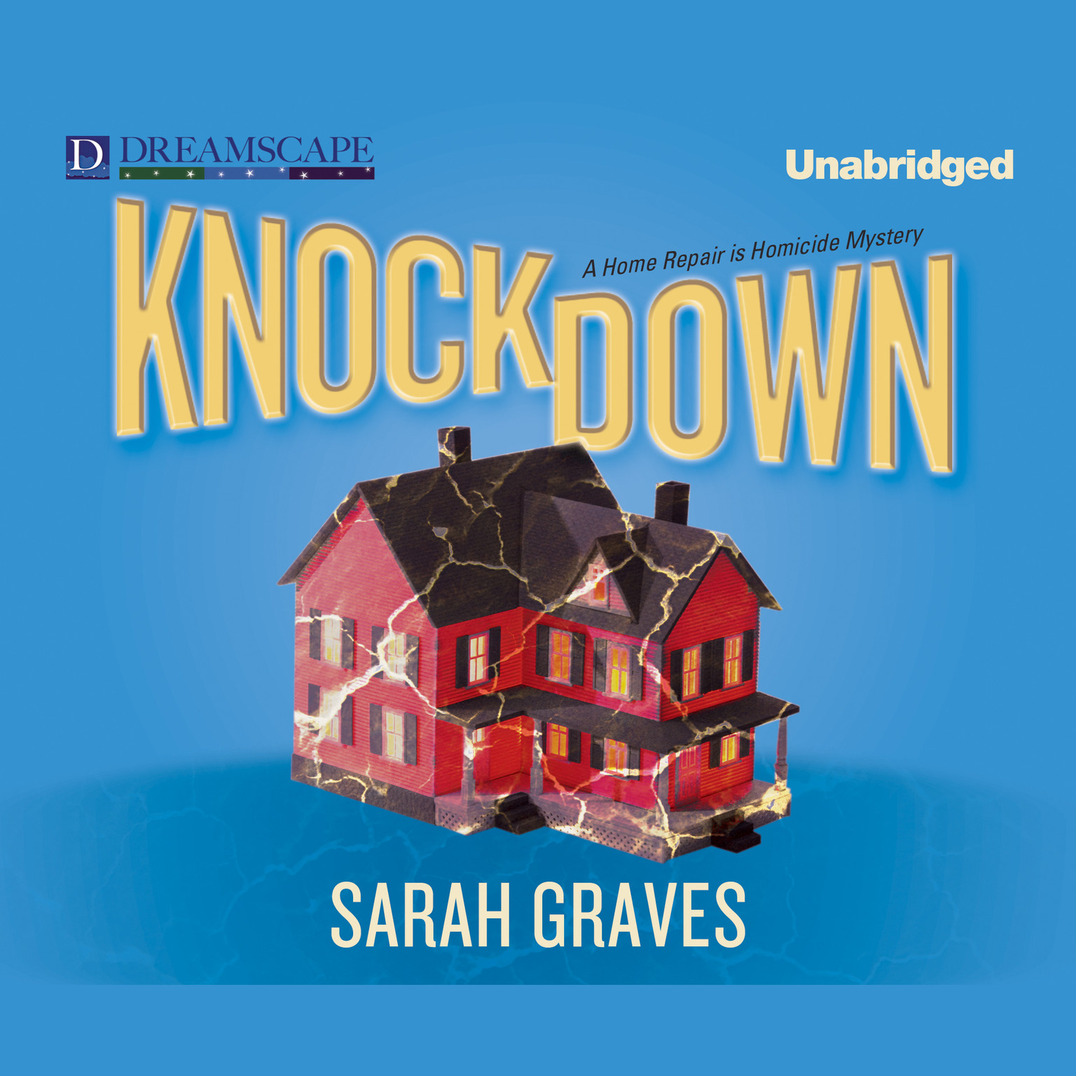 Printable Knockdown Audiobook Cover Art