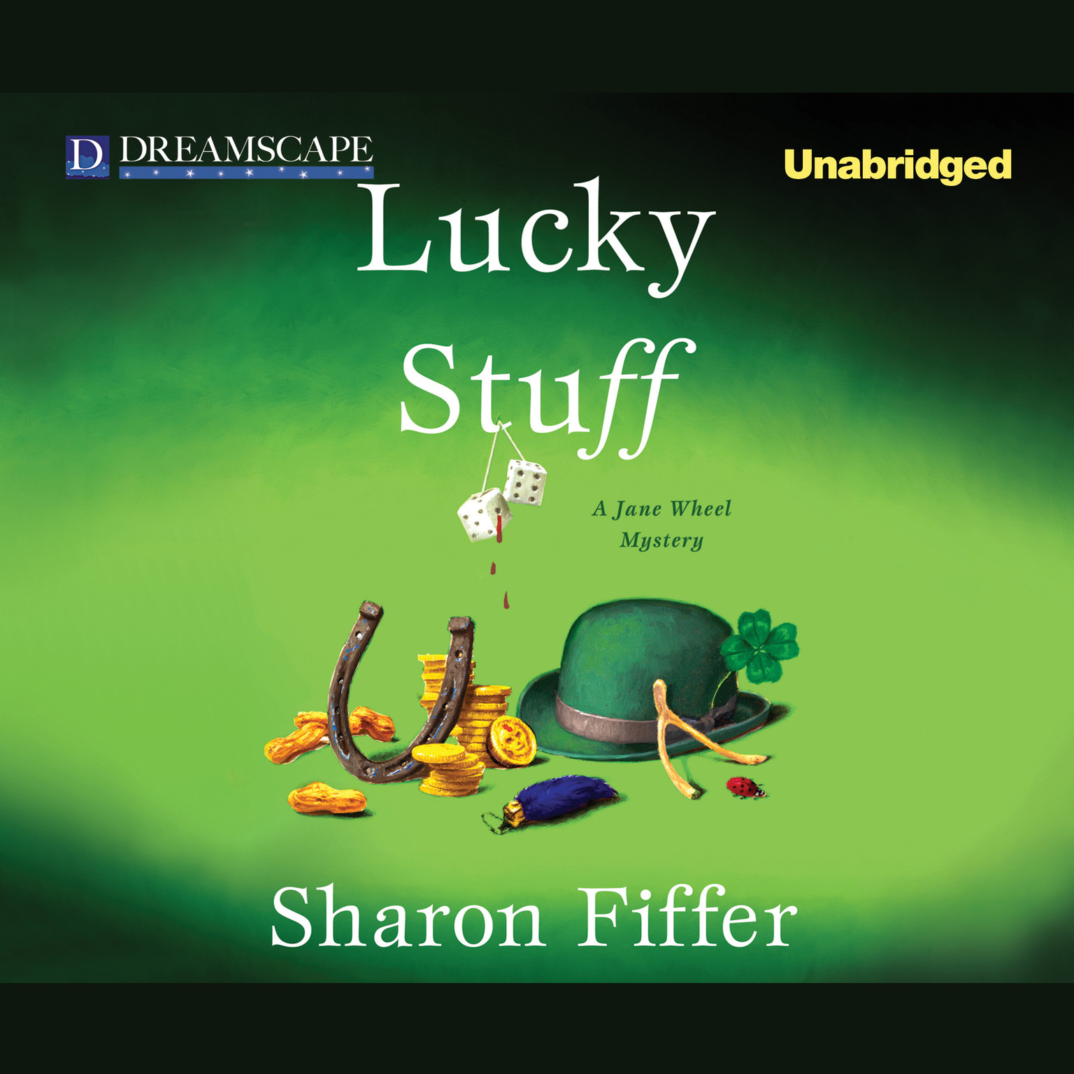 Printable Lucky Stuff Audiobook Cover Art