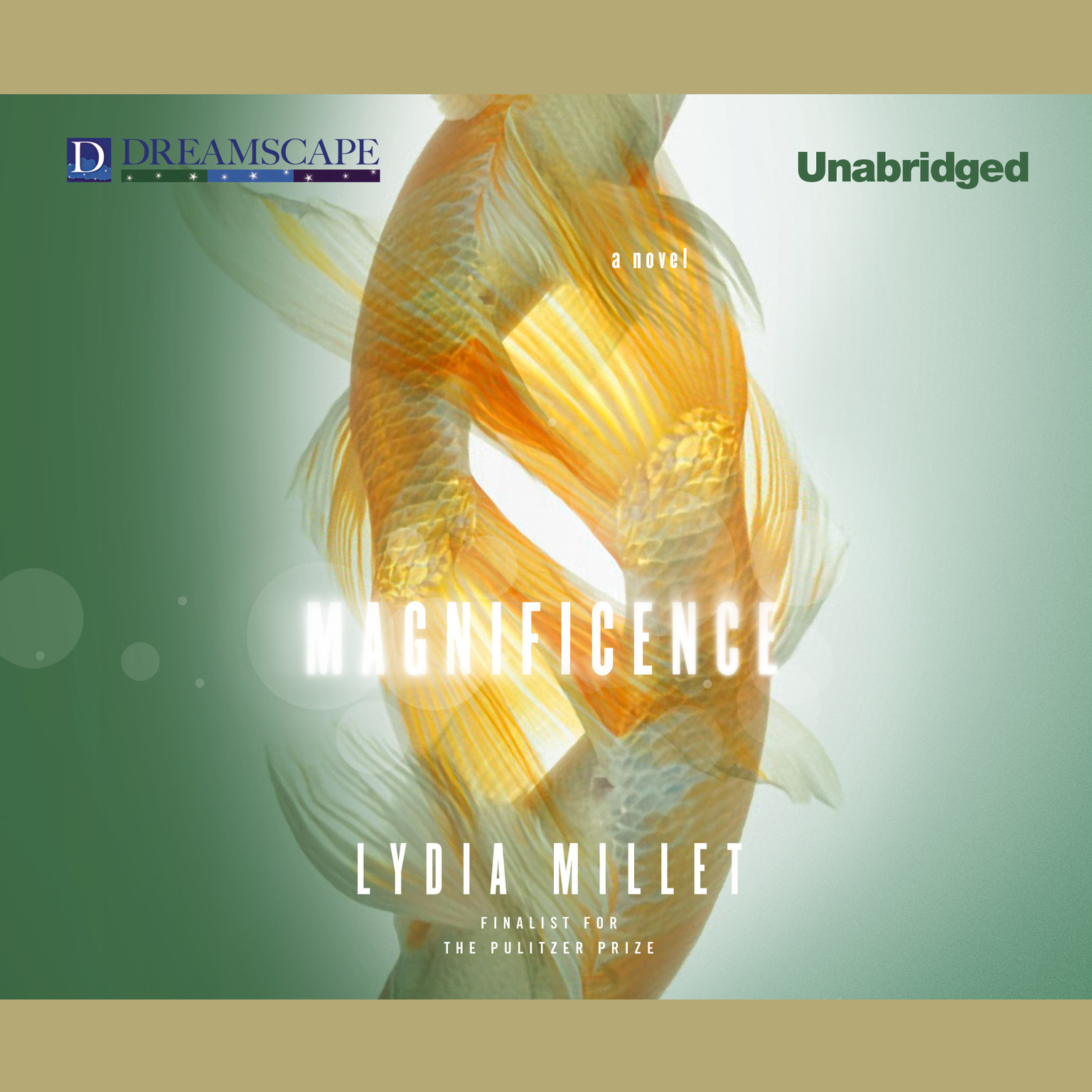 Printable Magnificence Audiobook Cover Art