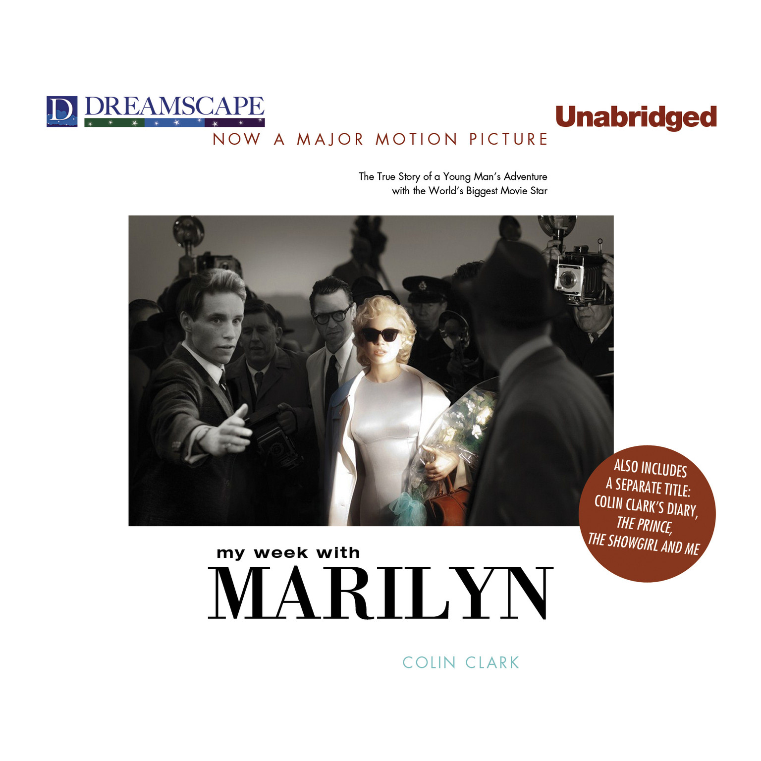 Printable My Week with Marilyn Audiobook Cover Art