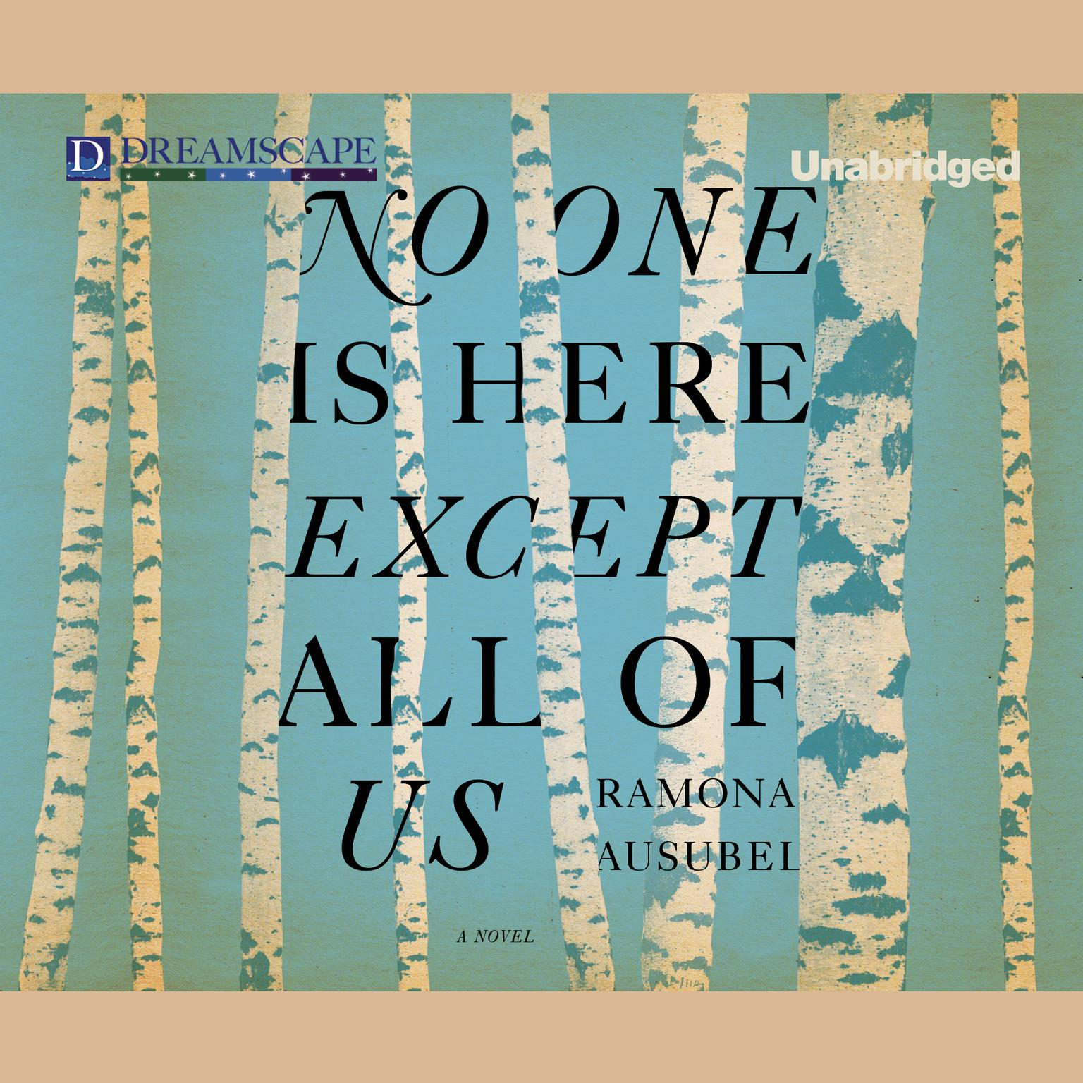 Printable No One is Here Except All of Us Audiobook Cover Art