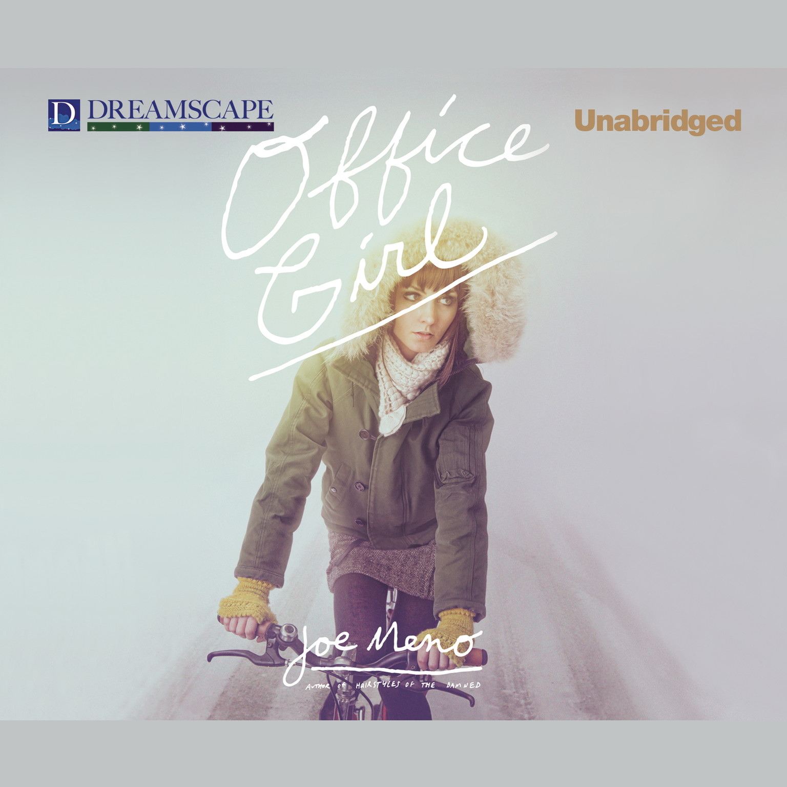 Printable Office Girl Audiobook Cover Art
