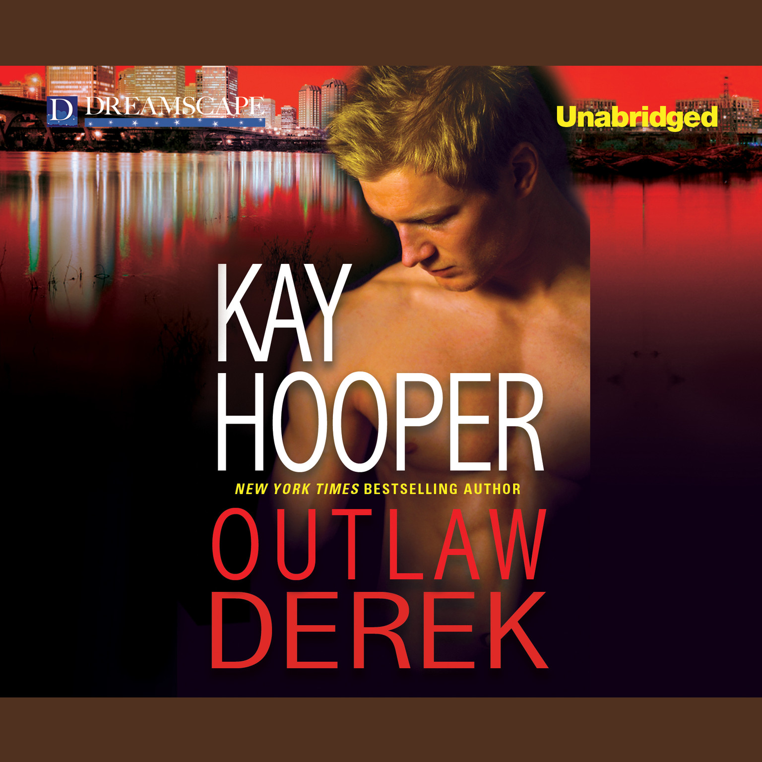 Printable Outlaw Derek Audiobook Cover Art