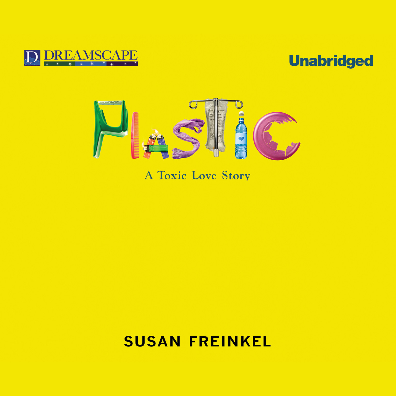 Printable Plastic: A Toxic Love Story Audiobook Cover Art
