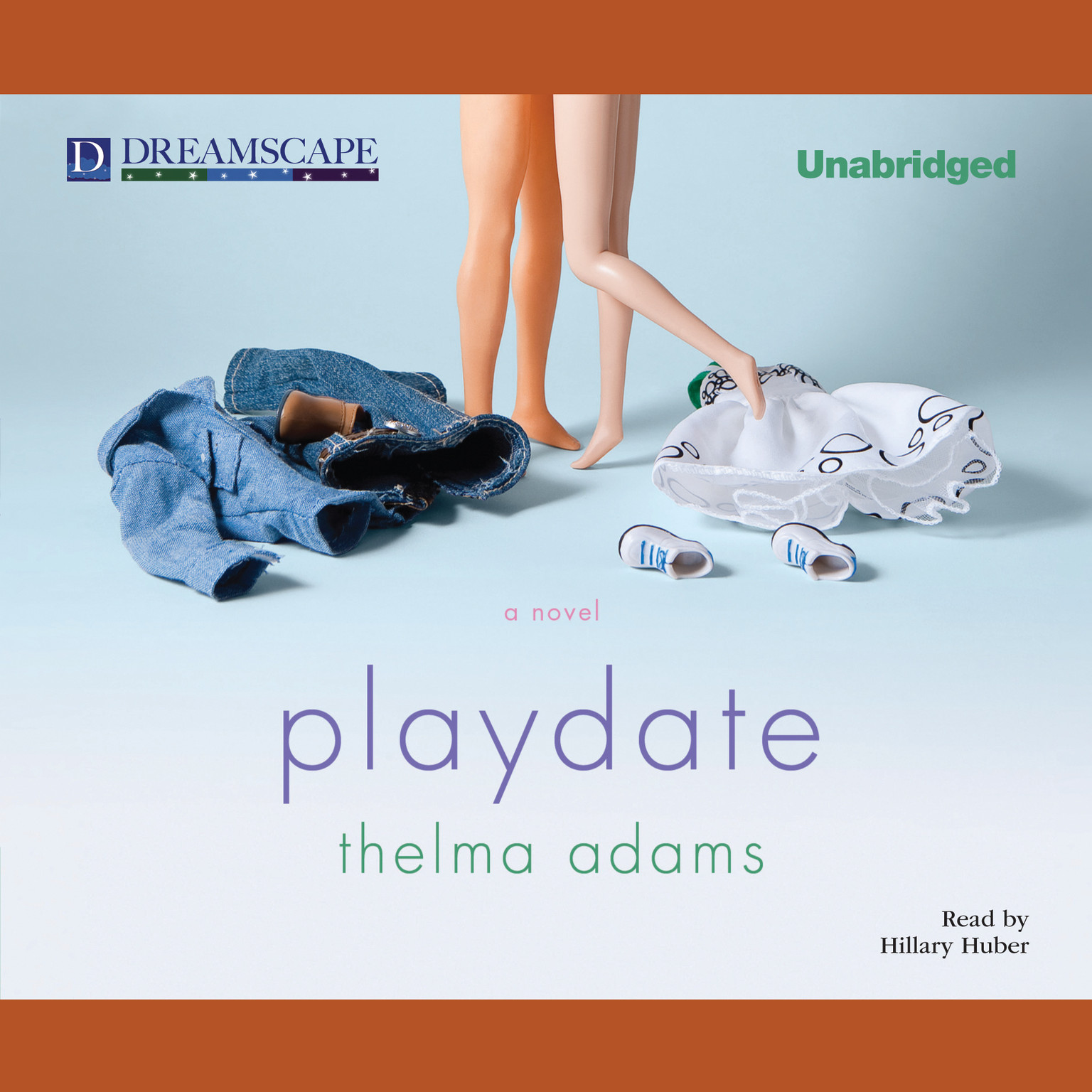 Printable Playdate Audiobook Cover Art