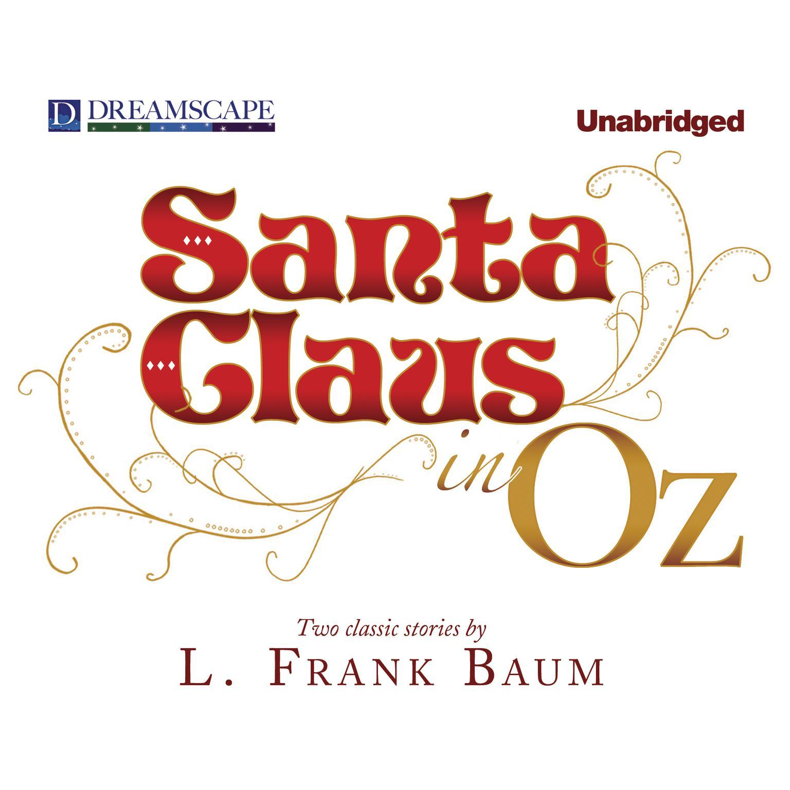 Printable Santa Claus in Oz Audiobook Cover Art