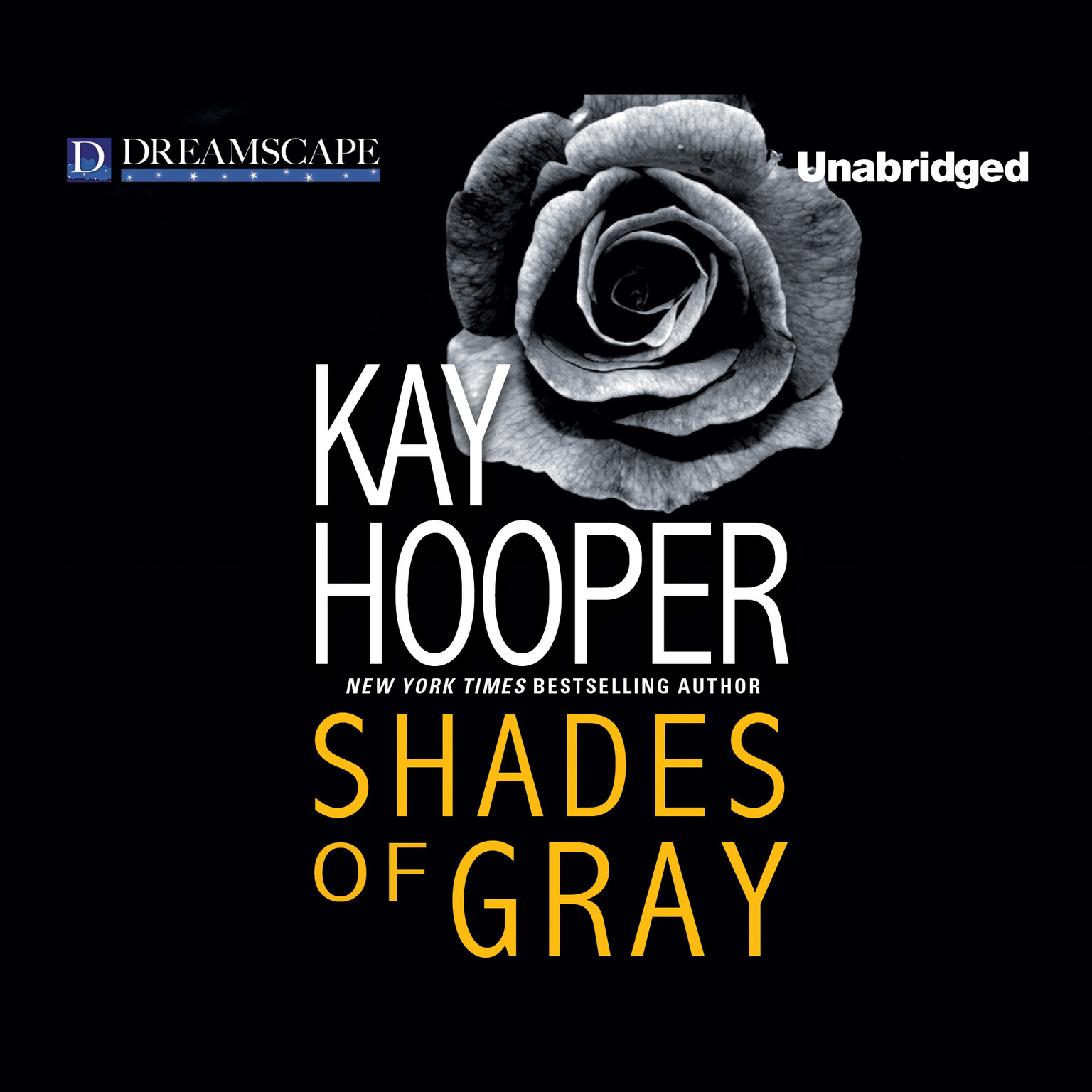 Printable Shades of Gray Audiobook Cover Art
