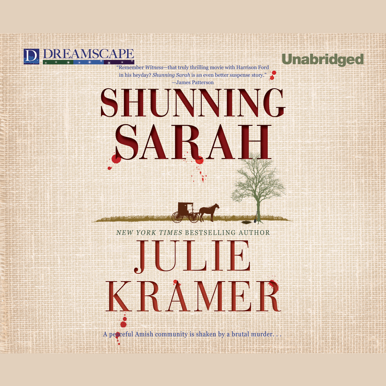 Printable Shunning Sarah Audiobook Cover Art