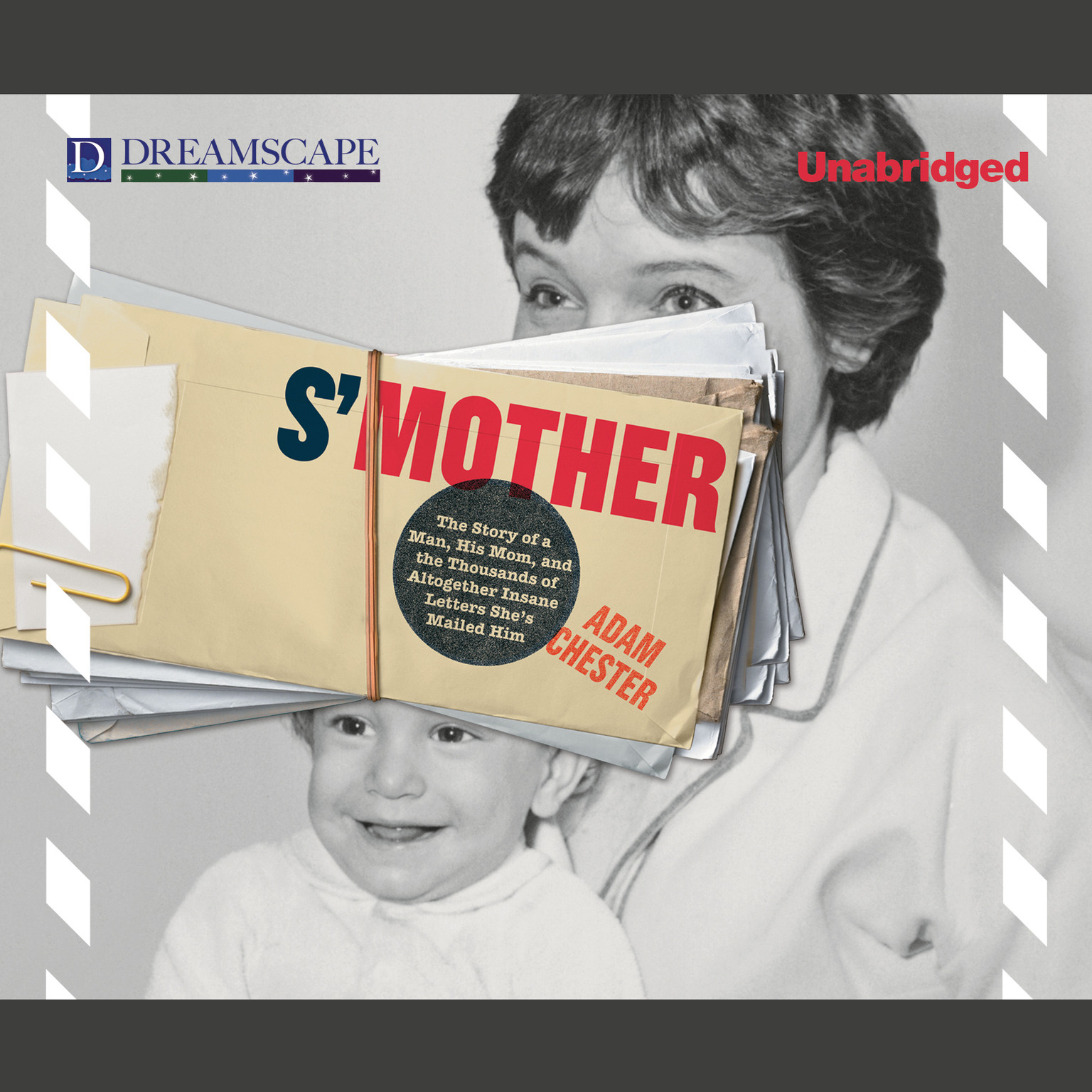 Printable S'Mother: The Story of a Man, His Mom, and the Thousands of Altogether Insane Letters She'd Mailed Him Audiobook Cover Art