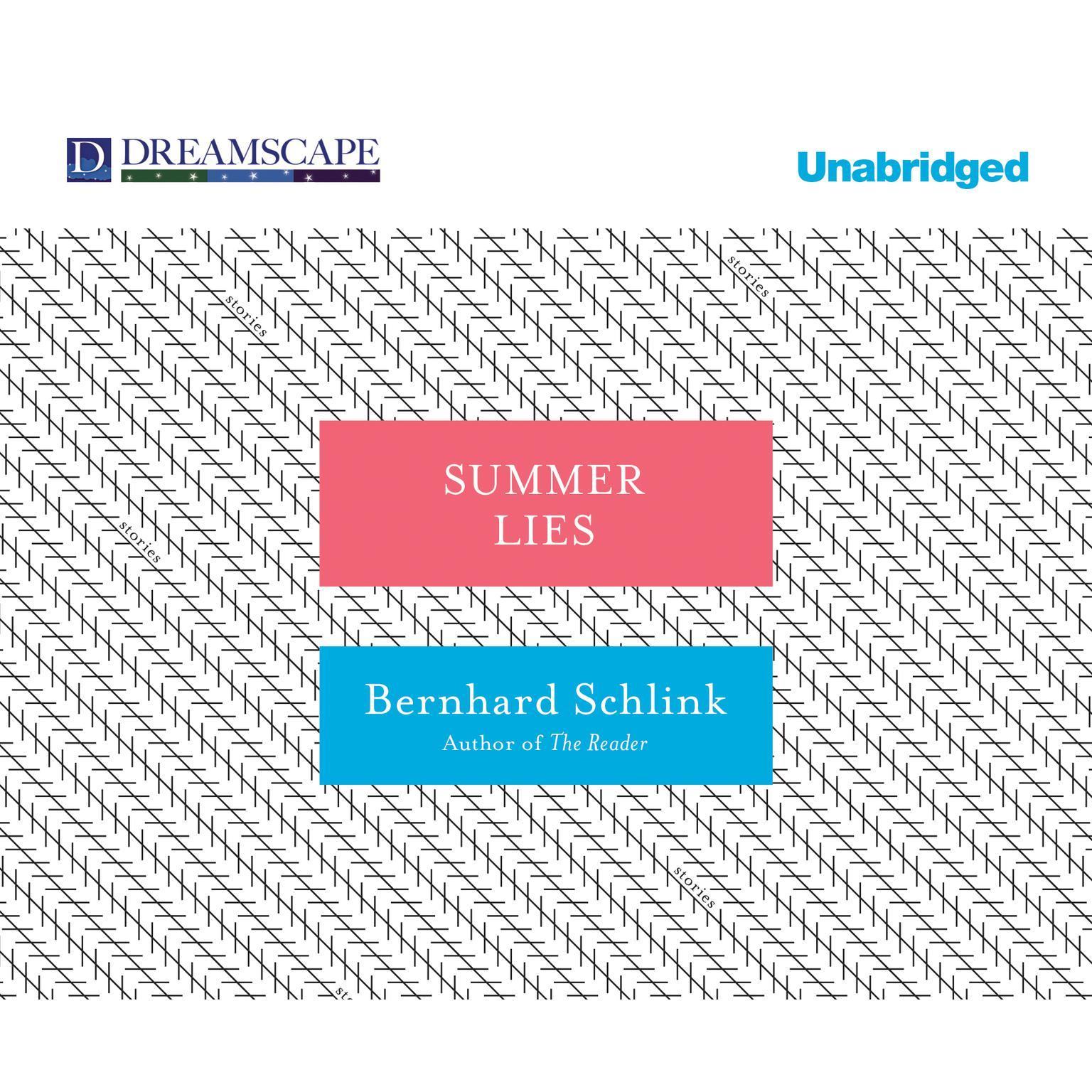 Printable Summer Lies Audiobook Cover Art