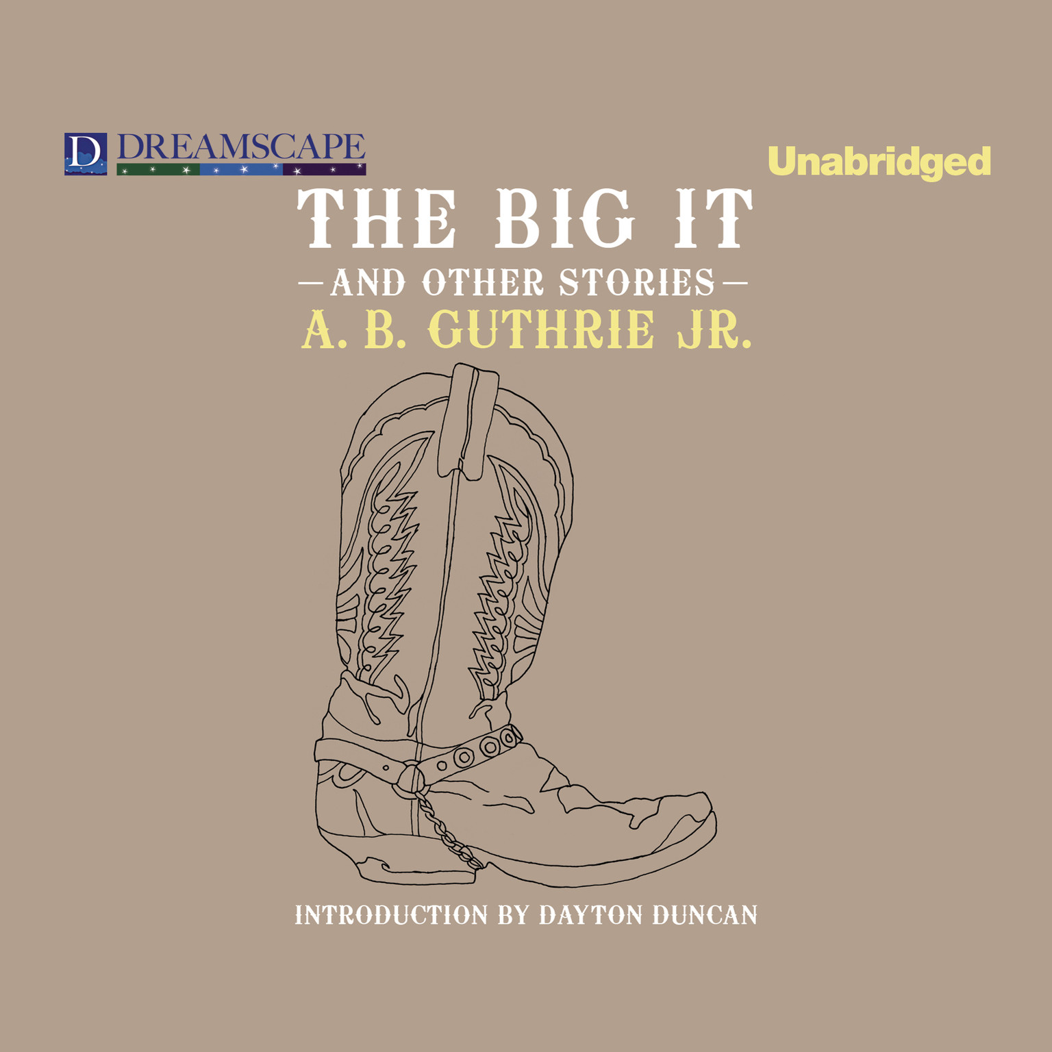 Printable The Big It: And Other Stories Audiobook Cover Art