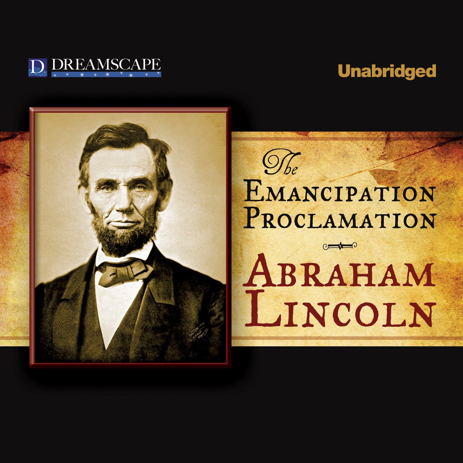 Printable The Emancipation Proclamation Audiobook Cover Art
