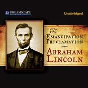 The Emancipation Proclamation Audiobook, by Abraham Lincoln