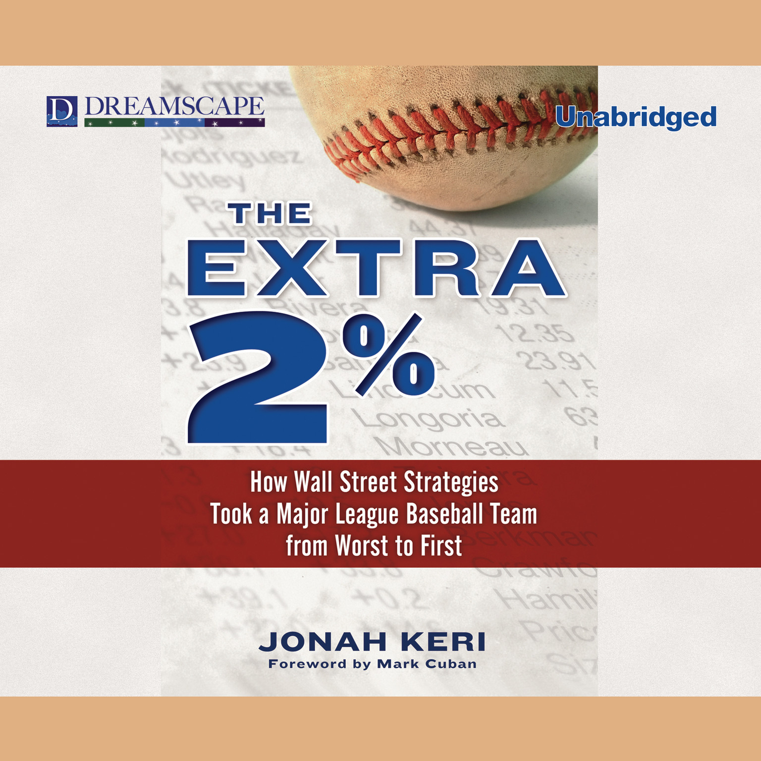 Printable The Extra 2%: How Wall Street Strategies Took a Major League Baseball Team from Worst to First Audiobook Cover Art