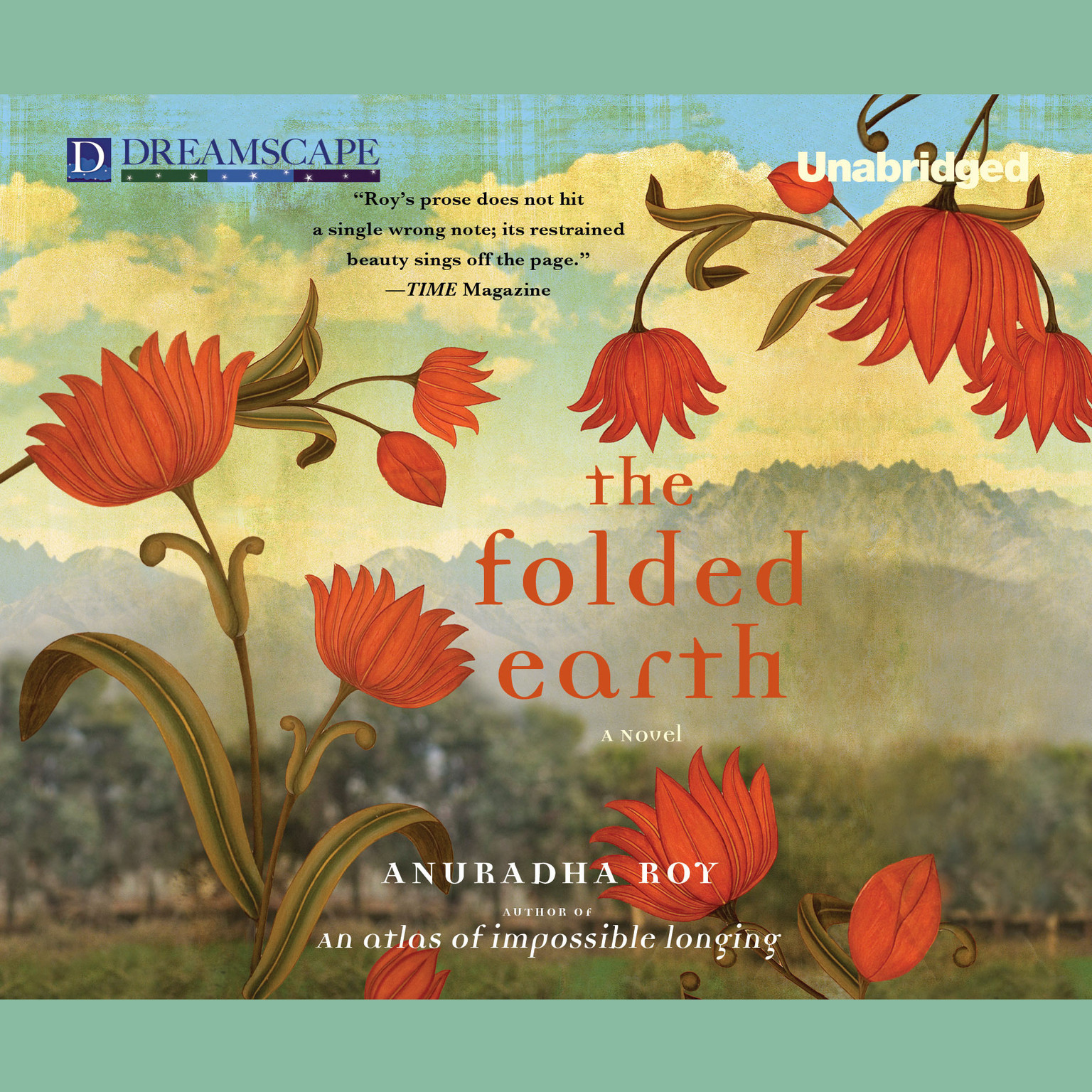 Printable The Folded Earth Audiobook Cover Art