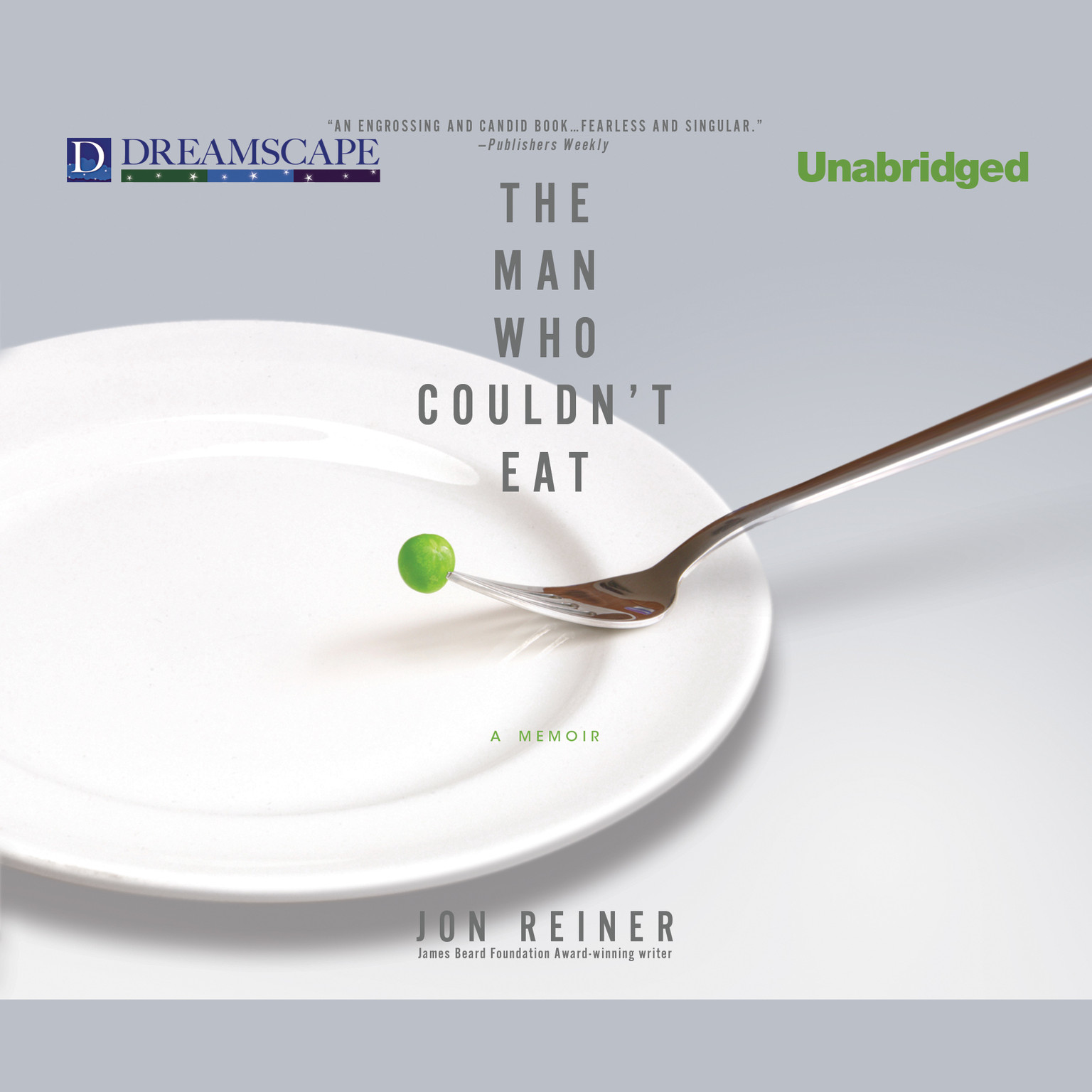 Printable The Man Who Couldn't Eat Audiobook Cover Art