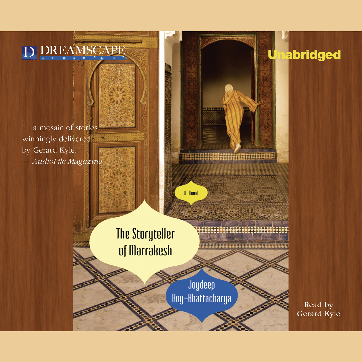 Printable The Storyteller of Marrakesh Audiobook Cover Art