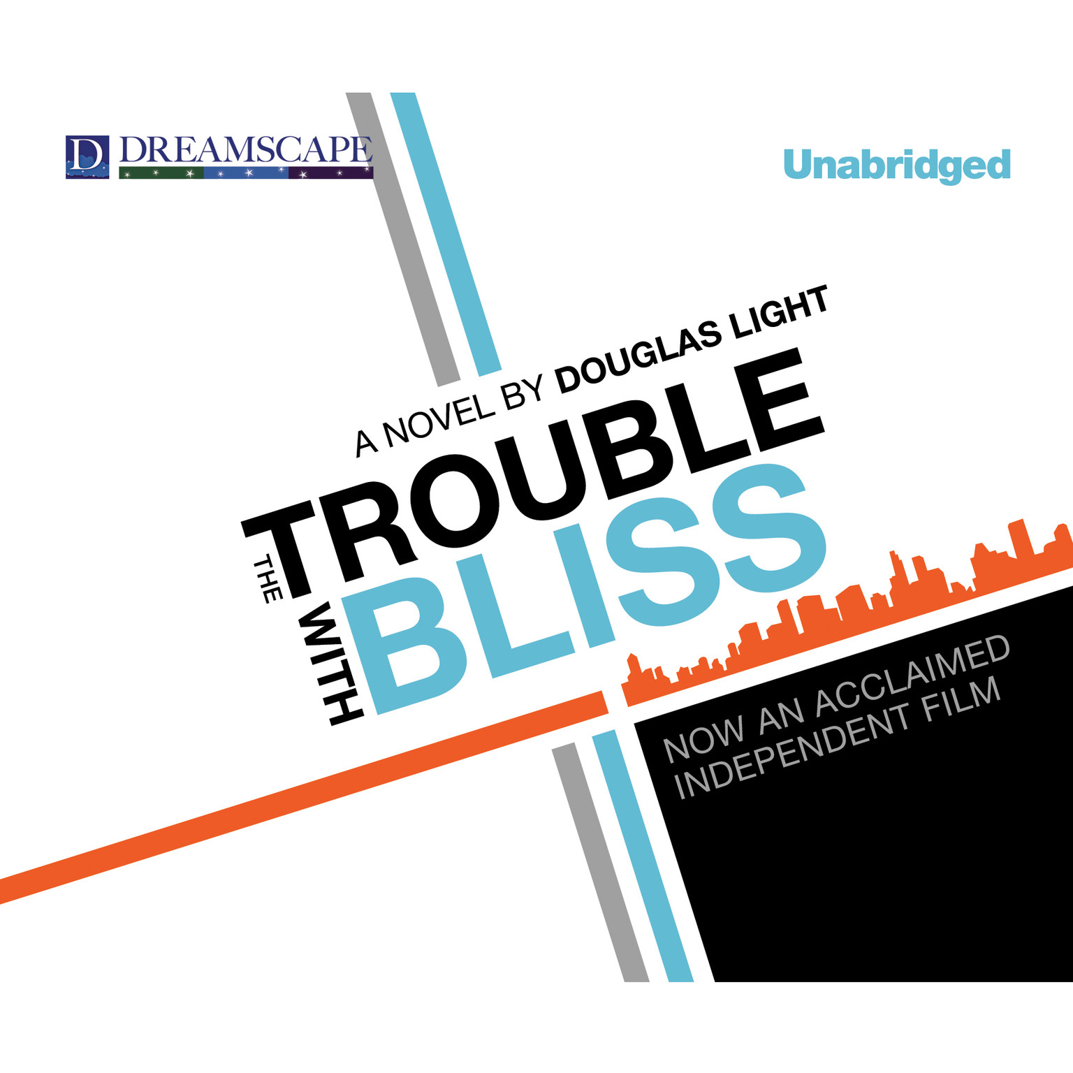 Printable The Trouble with Bliss Audiobook Cover Art