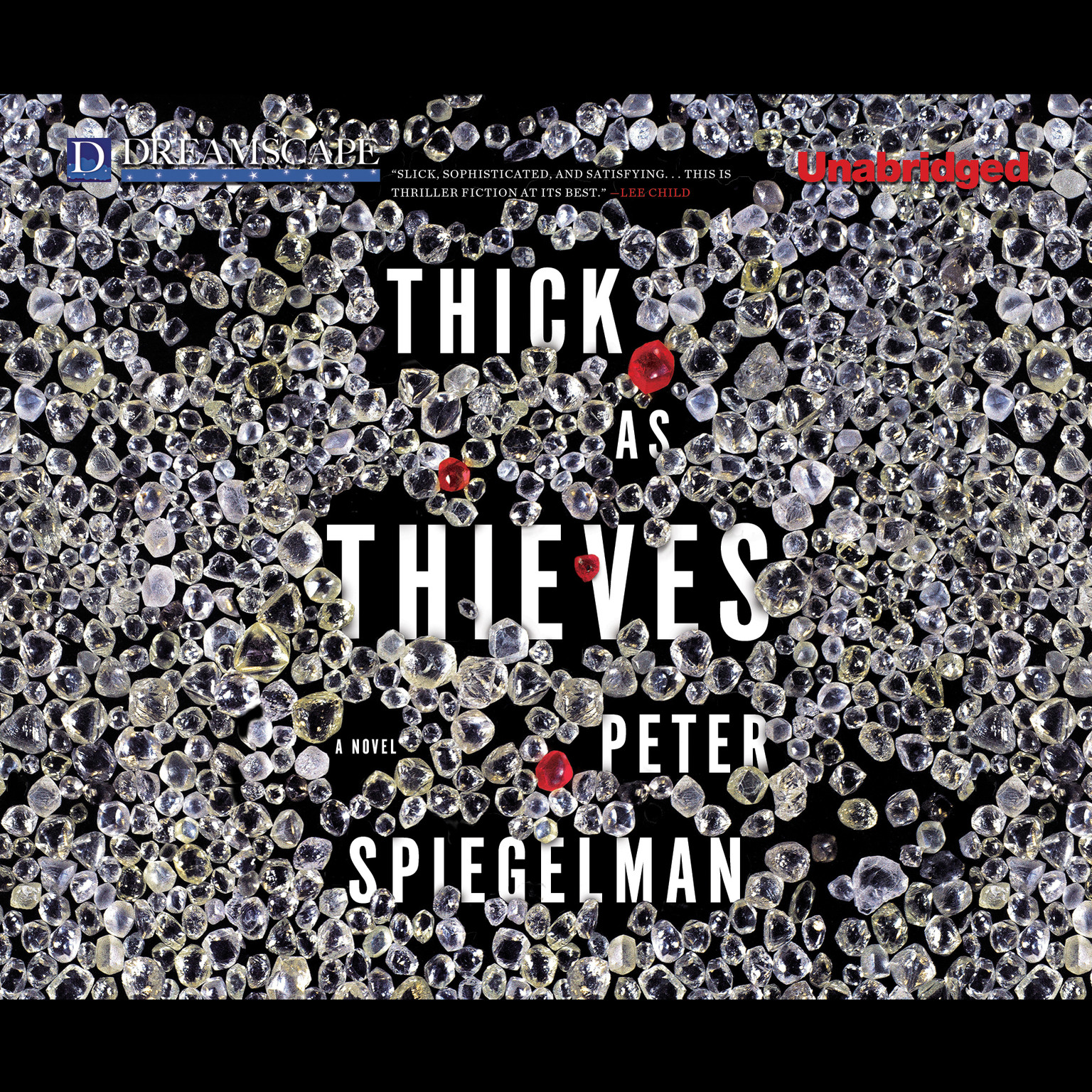 Printable Thick as Thieves Audiobook Cover Art