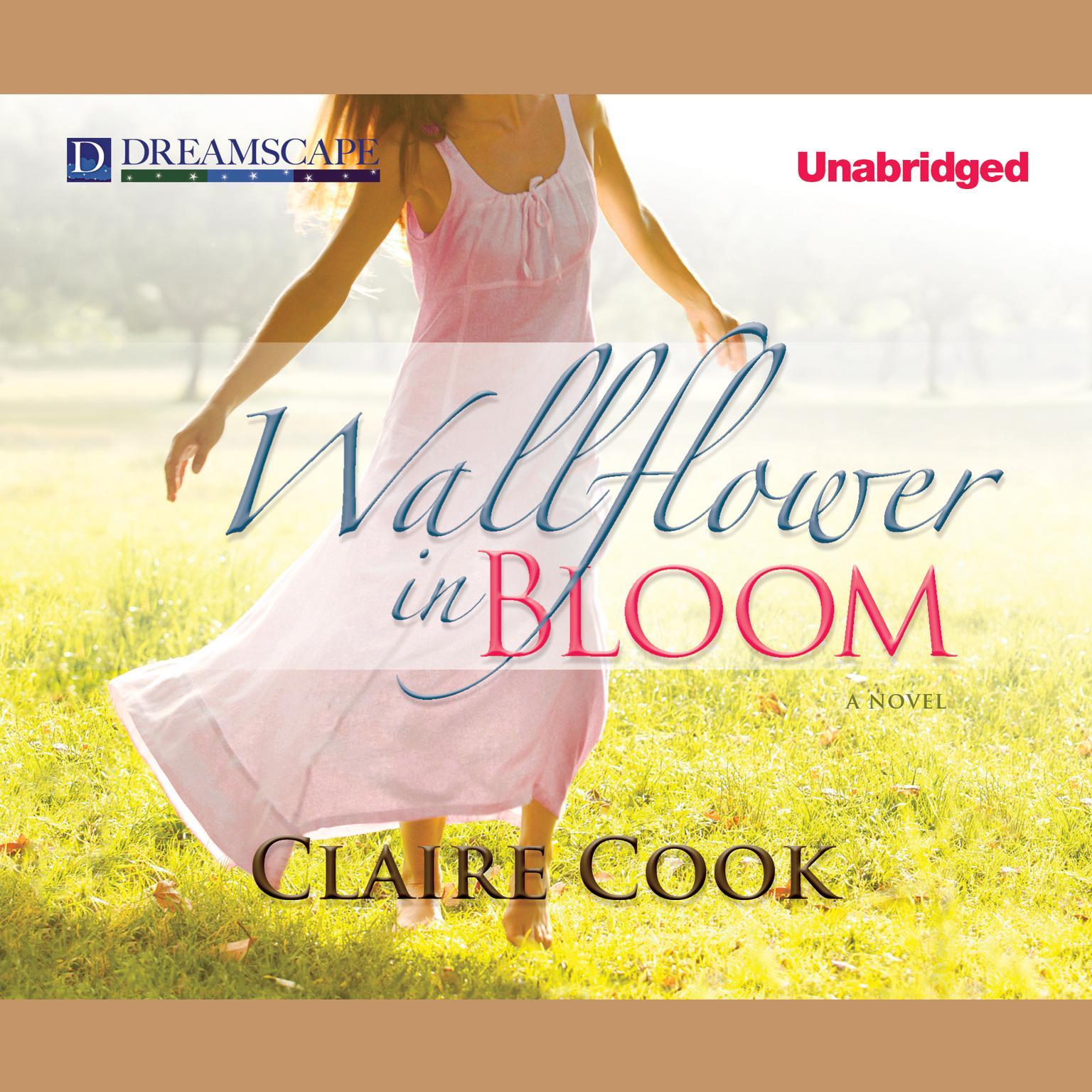 Printable Wallflower in Bloom Audiobook Cover Art