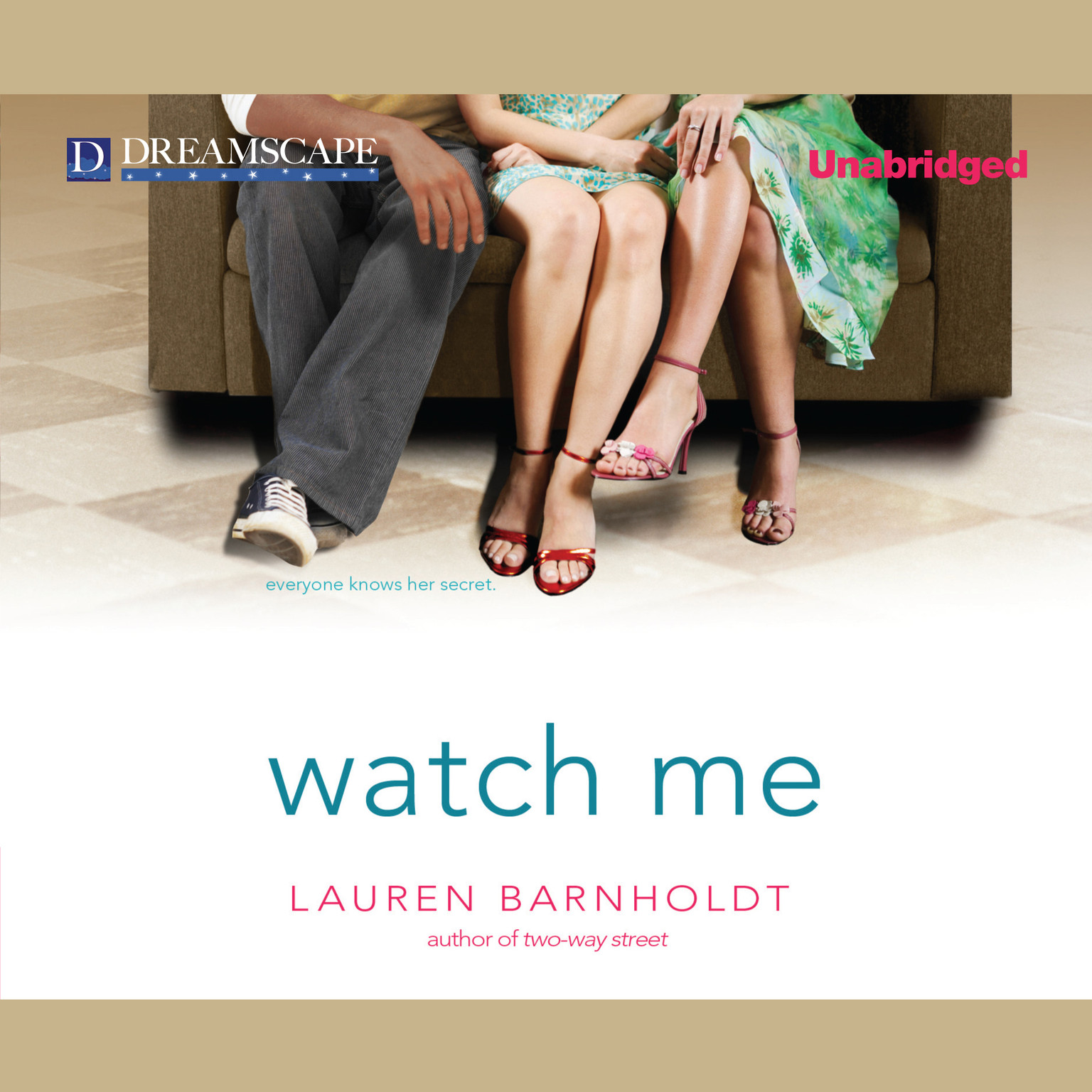 Printable Watch Me Audiobook Cover Art